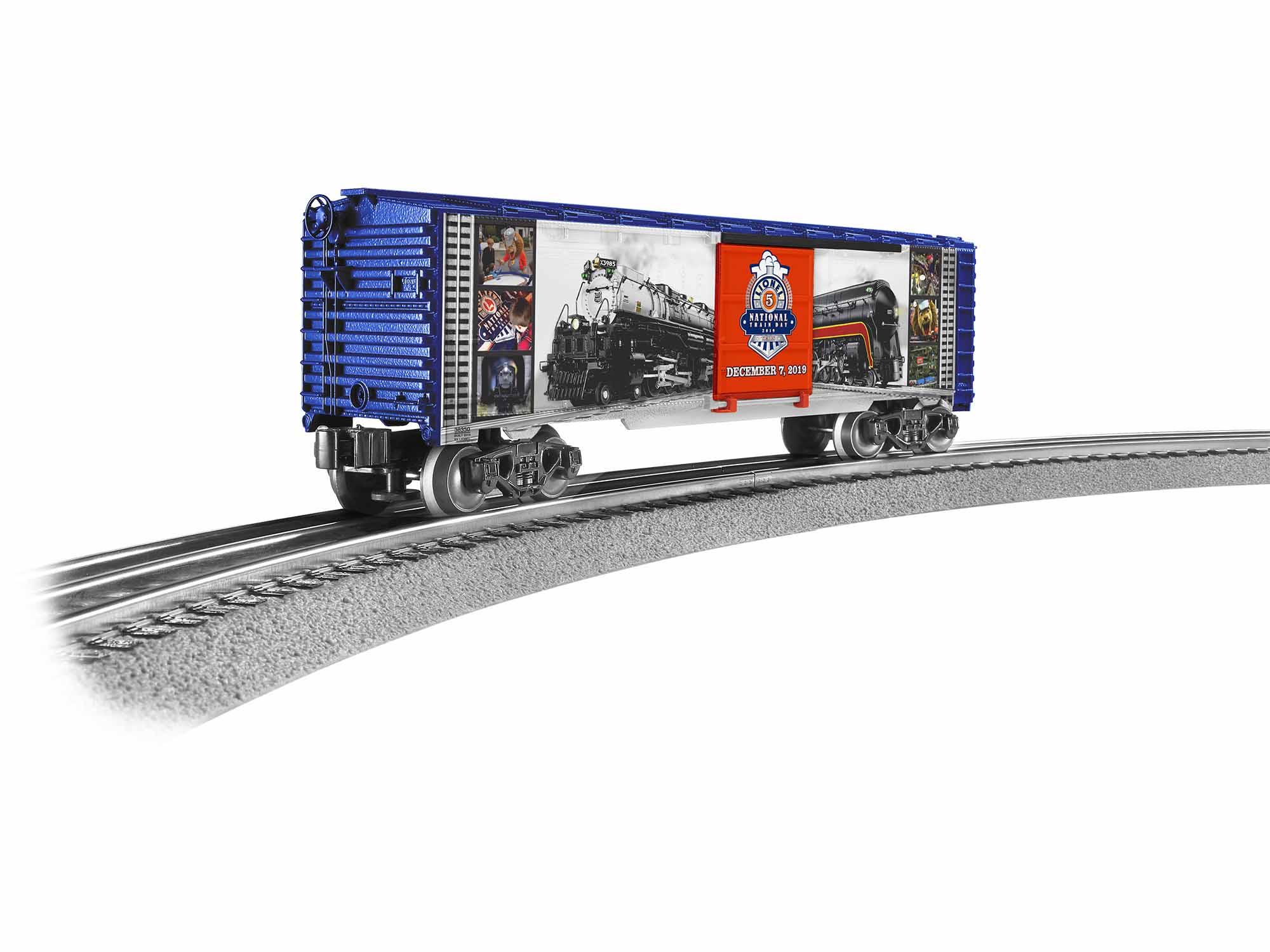 Lionel 1938350 O Boxcar 3-Rail RTR 2019 Train Day 434-1938350
