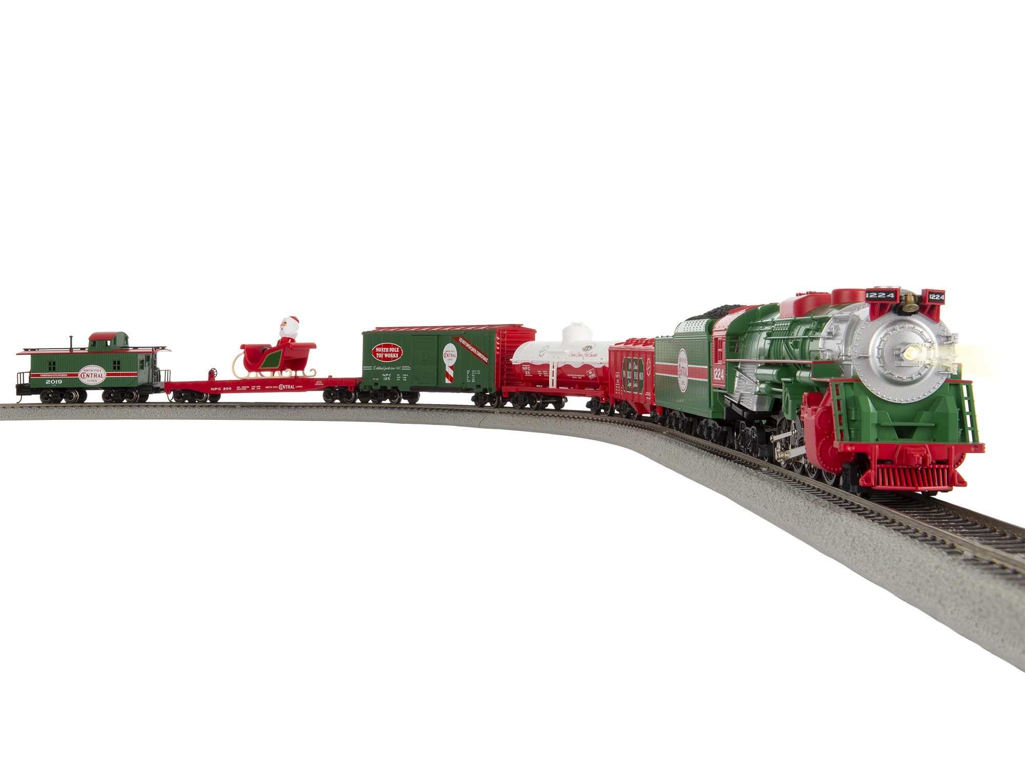 Lionel 1951020 HO North Pole Central Freight RailSounds and LionChief Control
