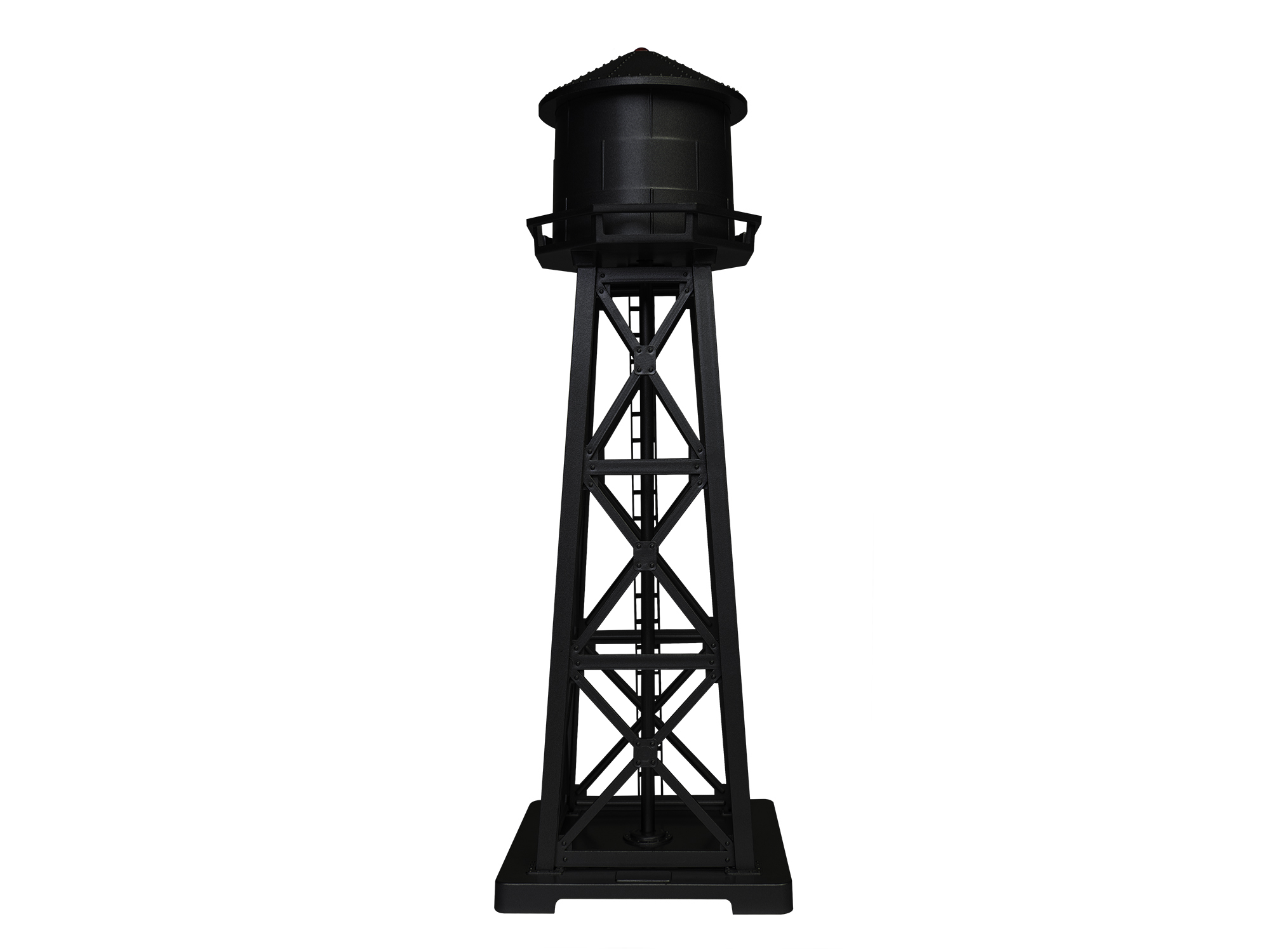 Lionel 1956130 HO Lighted Water Tower Kit Black