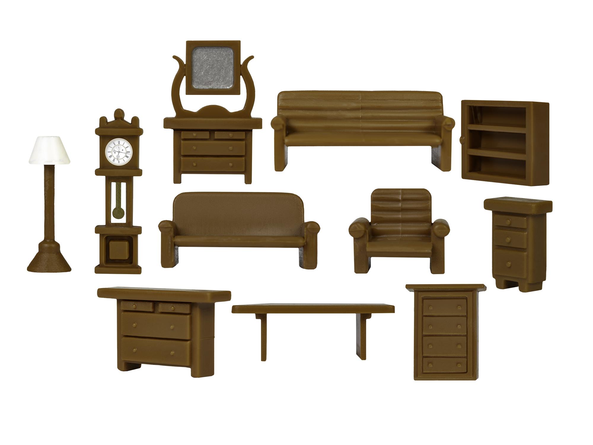 Lionel 1957250 HO Furniture Set Kit