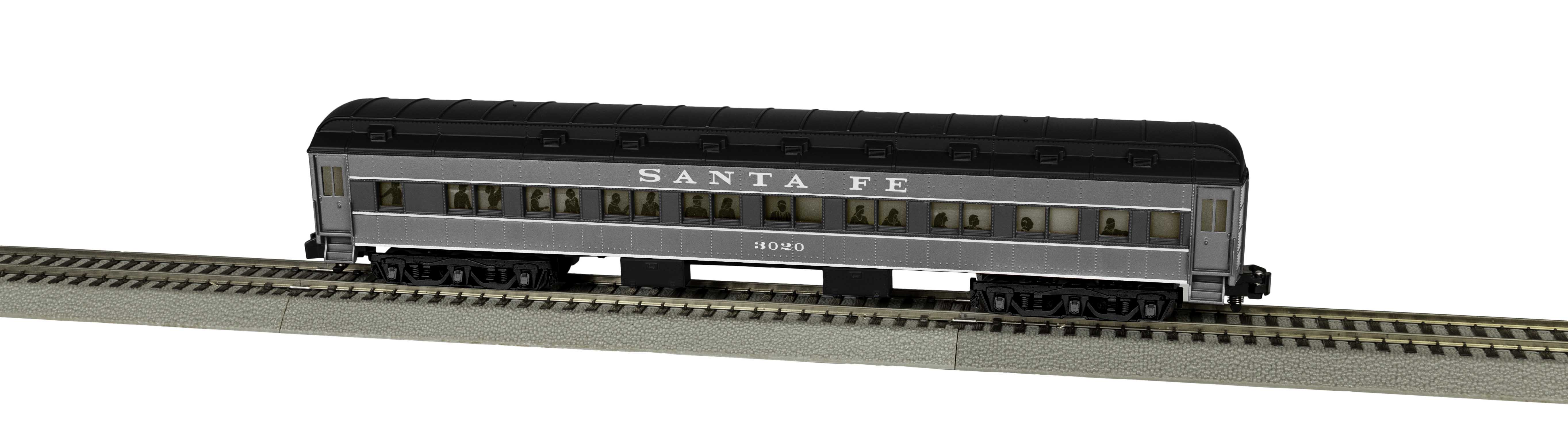 Lionel 2019252 S Santa Fe Heavyweight Coach #3020