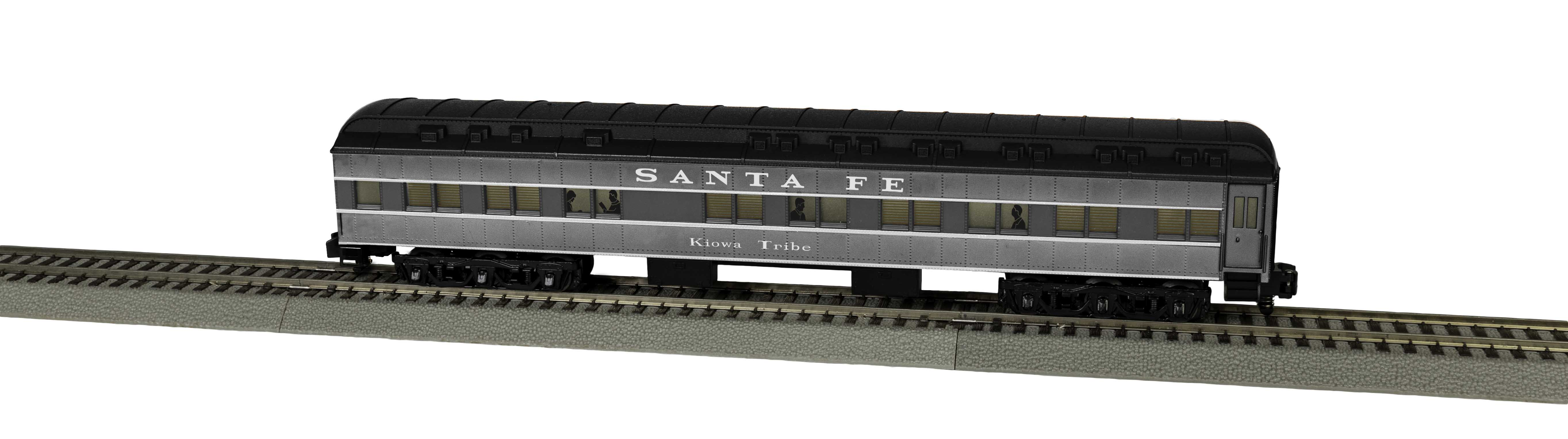 Lionel 2019271 S Santa Fe Heavyweight Sleeper Kiowa Tribe