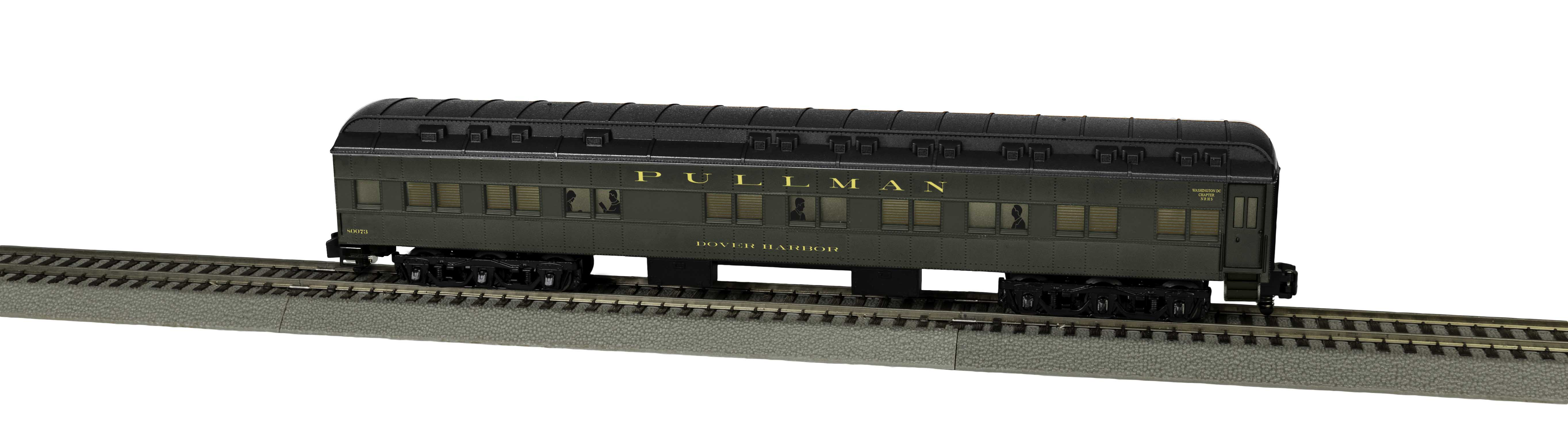 Lionel 2019411 S Pullman Heavyweight Sleeper Dover Harbor