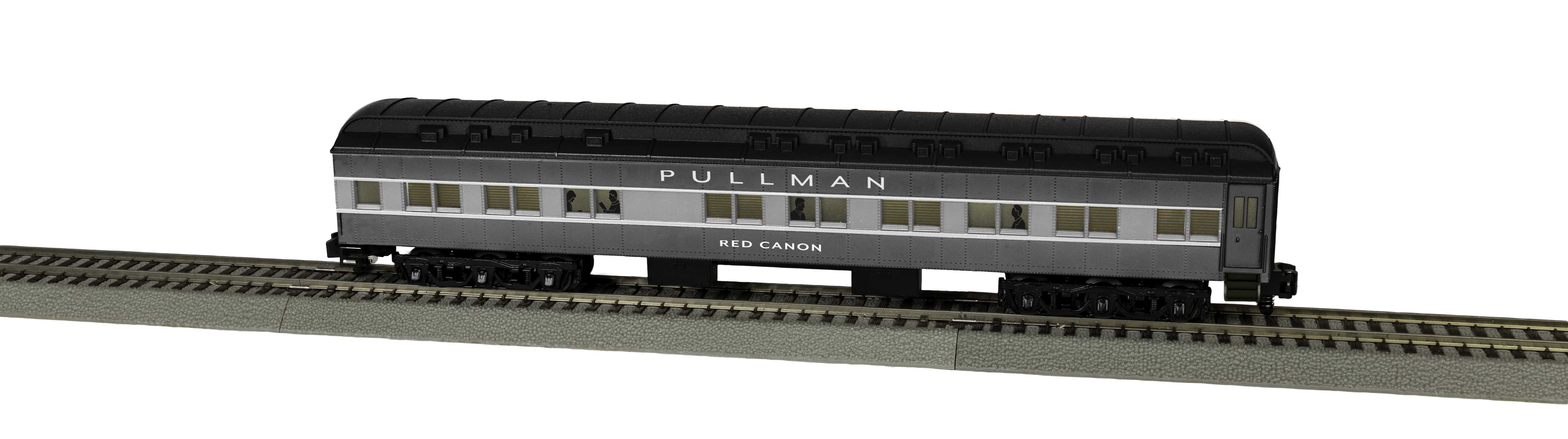 Lionel 2019421 S Pullman Heavyweight Sleeper Red Canon