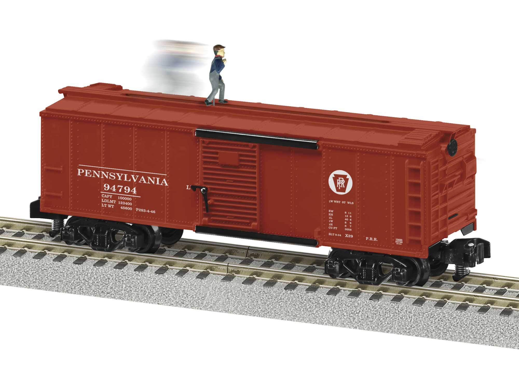 Lionel 2019480 S Box Walking Brakeman PRR