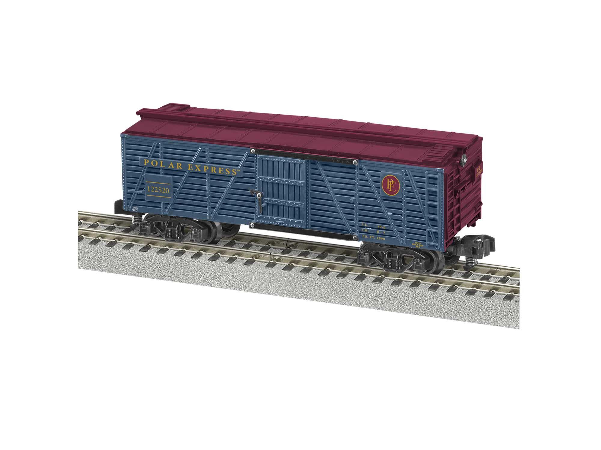 Lionel 2019540 S The Polar Express Stock Car #122520