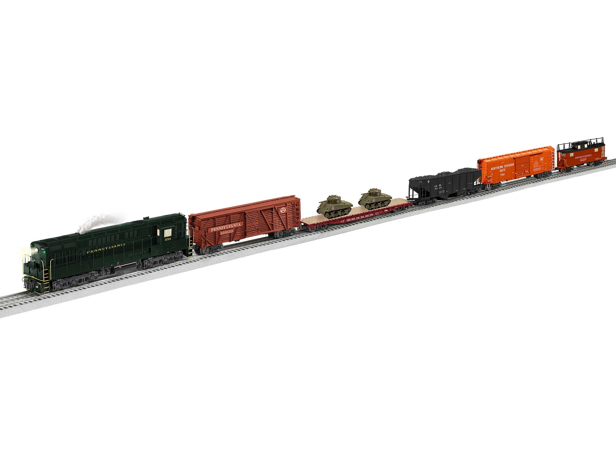 Lionel 2022100 O Trainmaster Set PRR