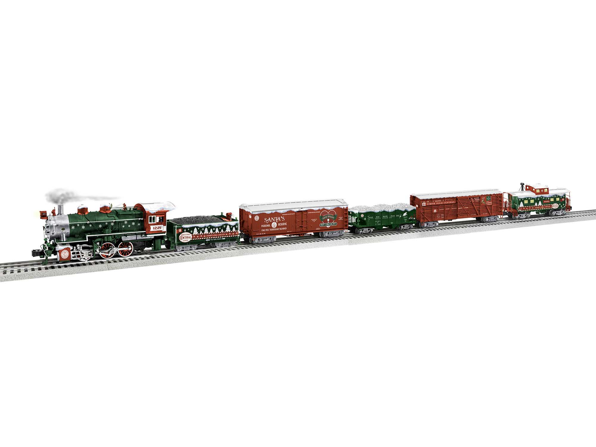 Lionel 2022140 O North Pole Central Snowflake Limited Set