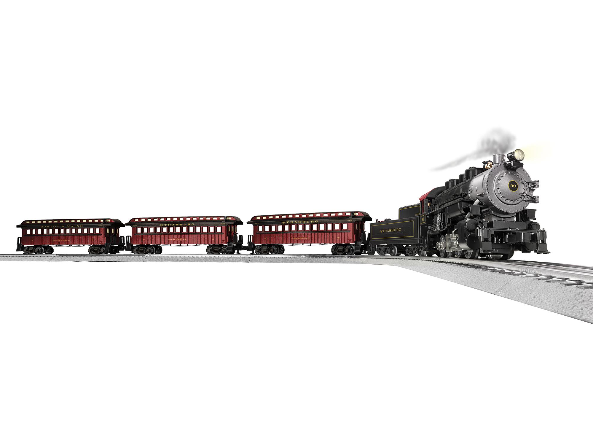 Lionel 2023010 O Strasburg Railroad Set 3-Rail LionChief Sound and Control Strasburg Railroad