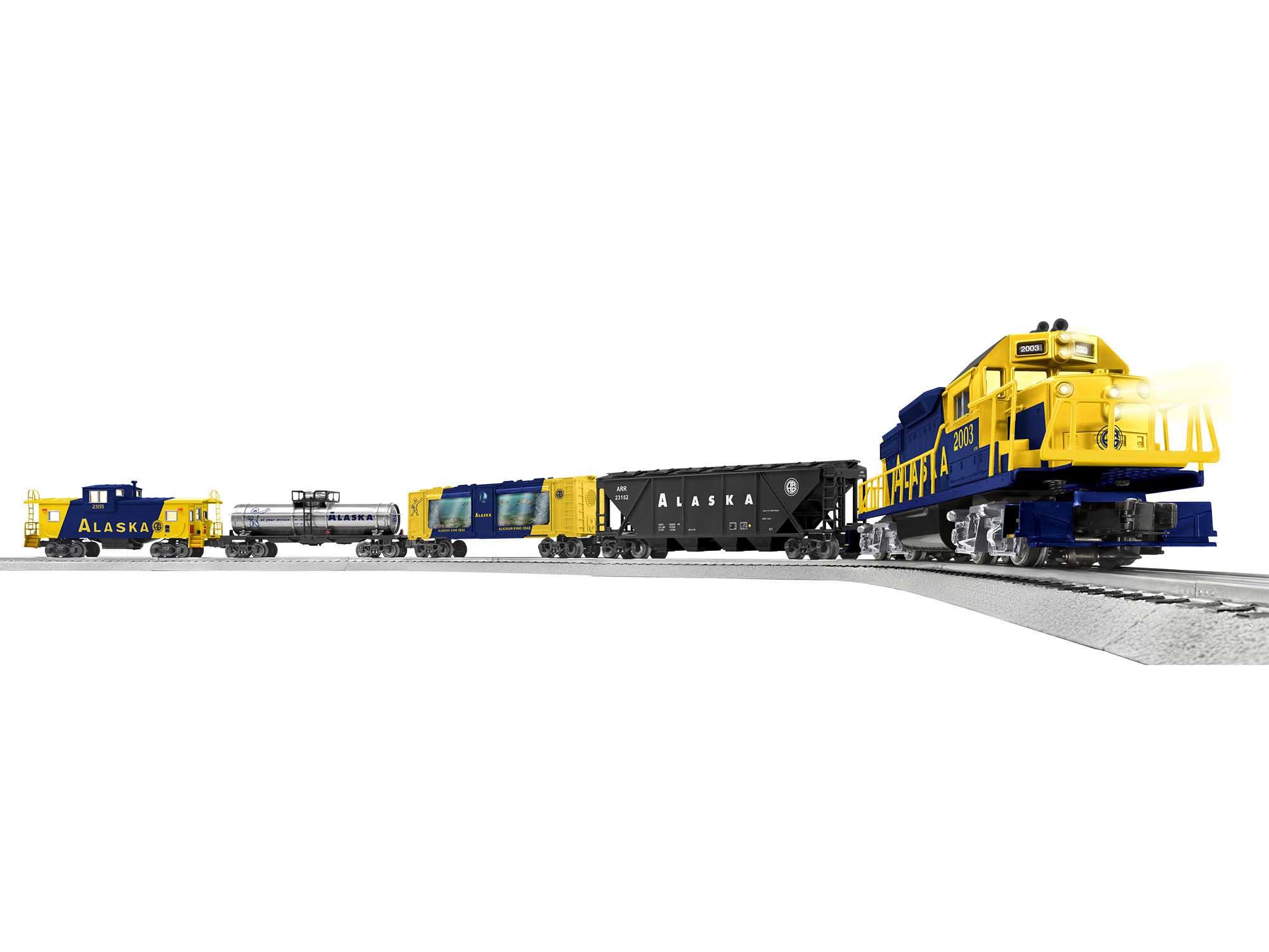 Lionel 2023150 O27 LioncChief Set Alaska Freight