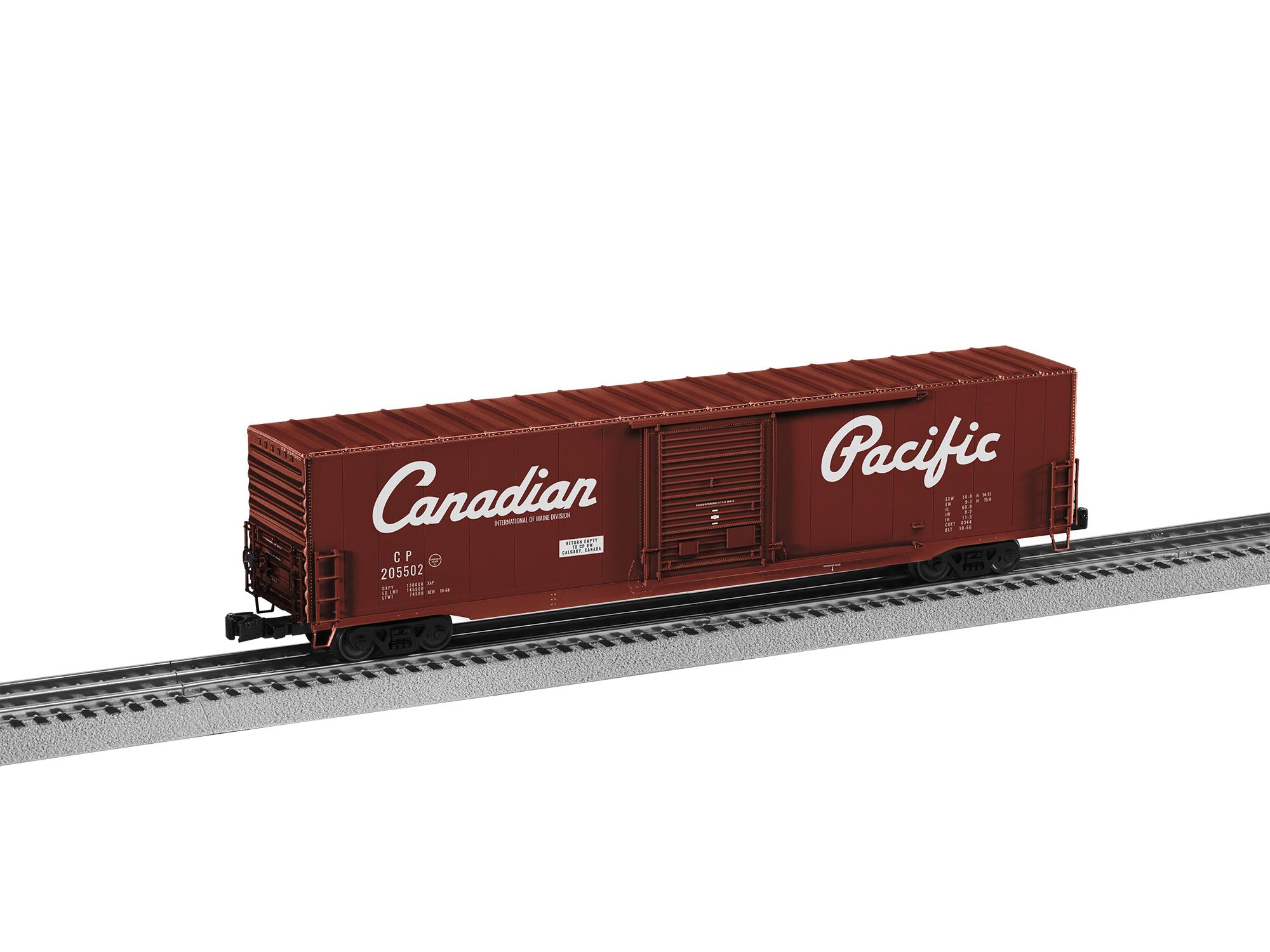 Lionel 2026401 O 60' Single-Door Boxcar 3-Rail Canadian Pacific 205502 434-2026401