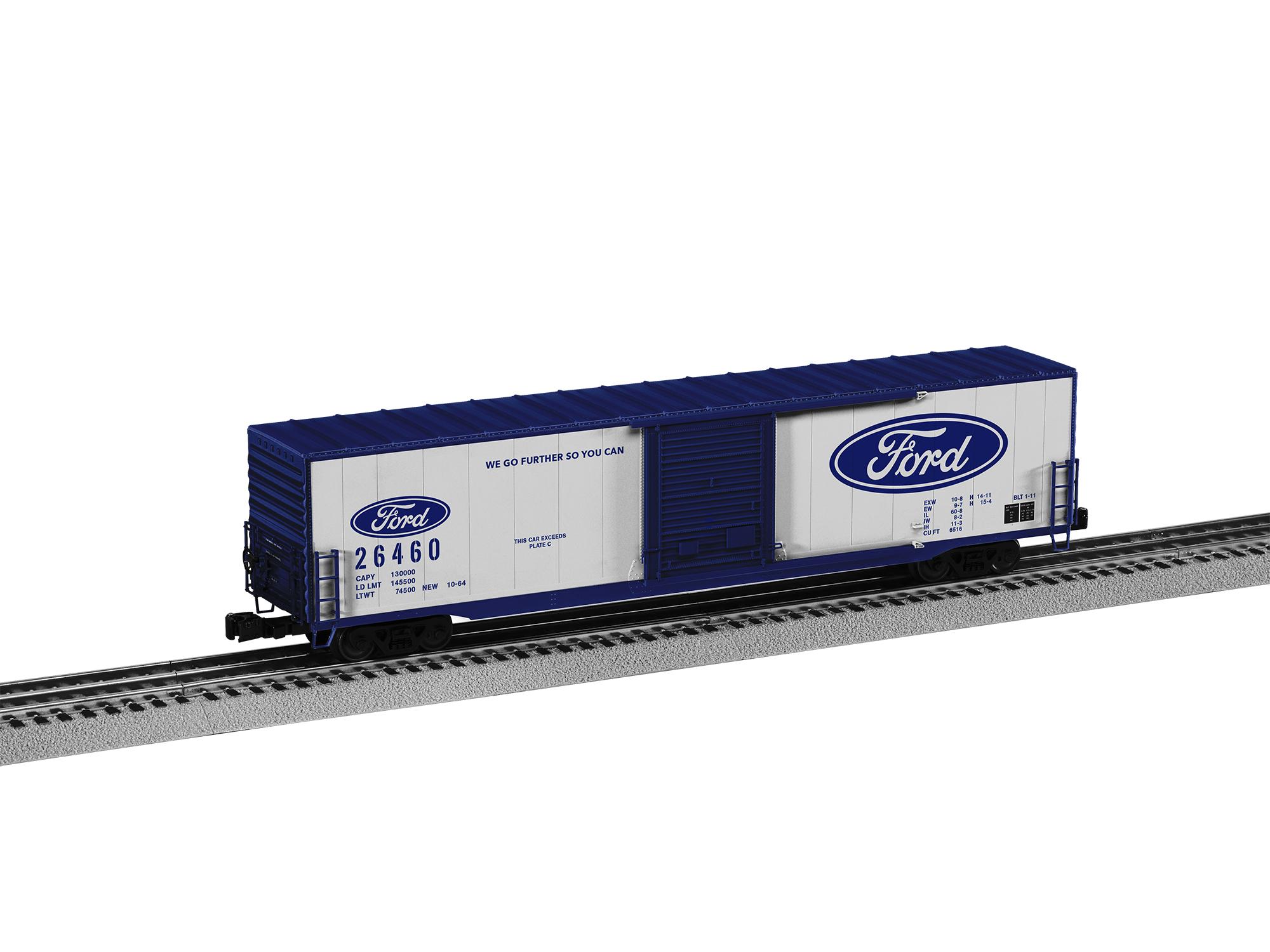 Lionel 2026460 O 60' Boxcar 3-Rail RTR Ford 26460 434-2026460