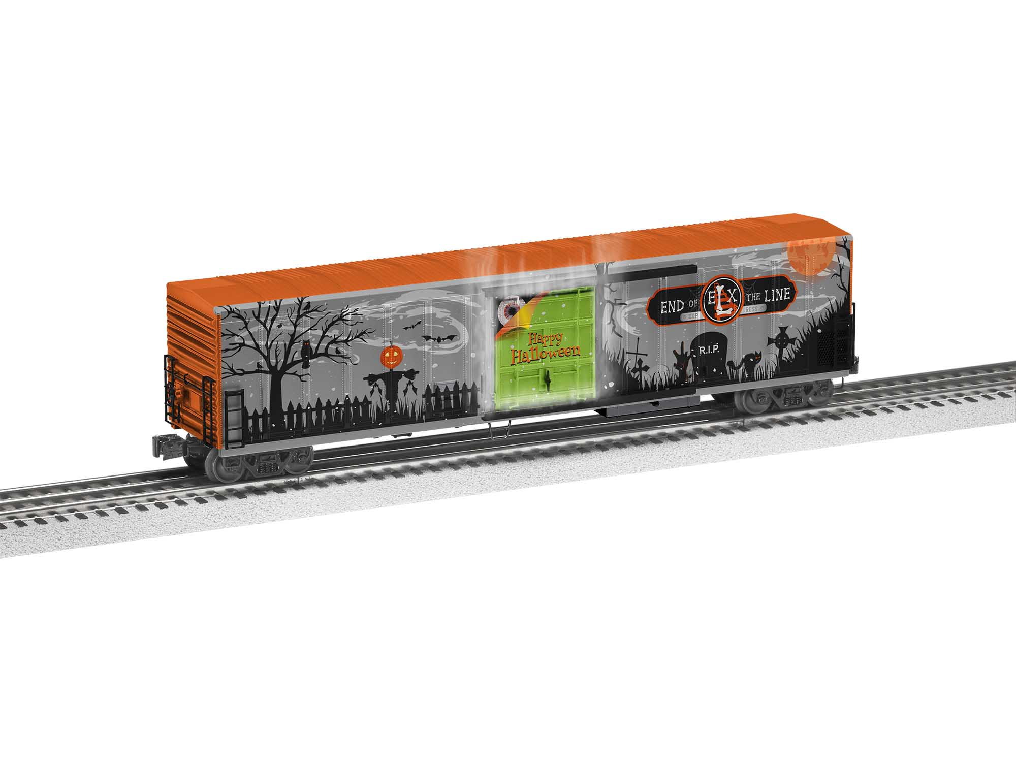Lionel 2026510 O Reefer Halloween Smoking 57'