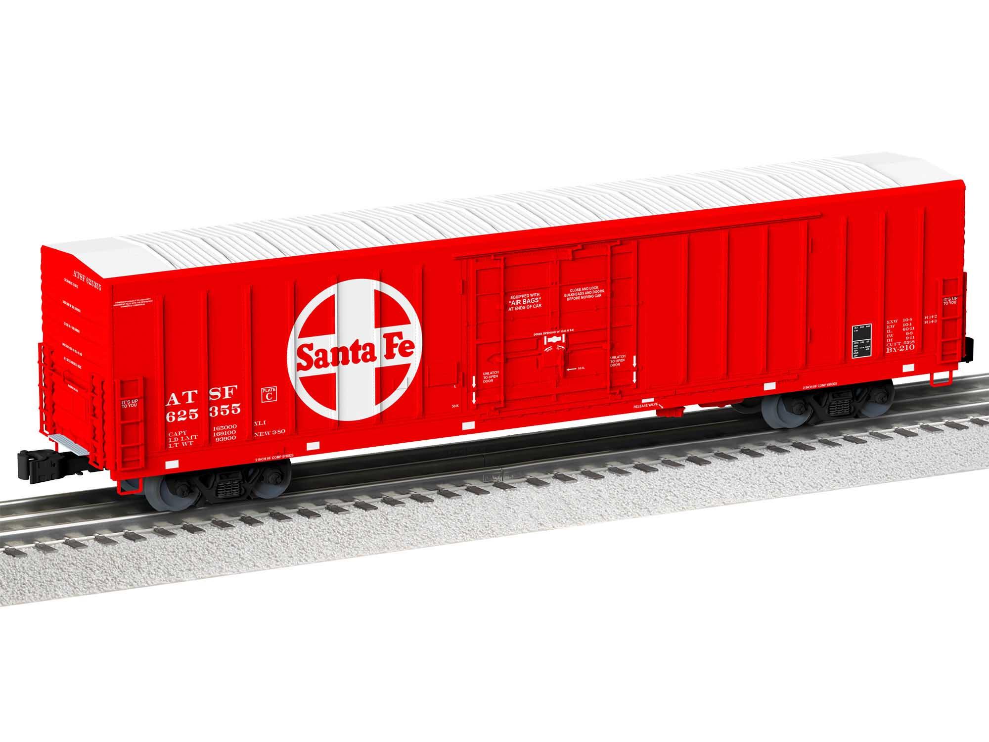Lionel 2026541 O Freight Boxcar Santa Fe #625355