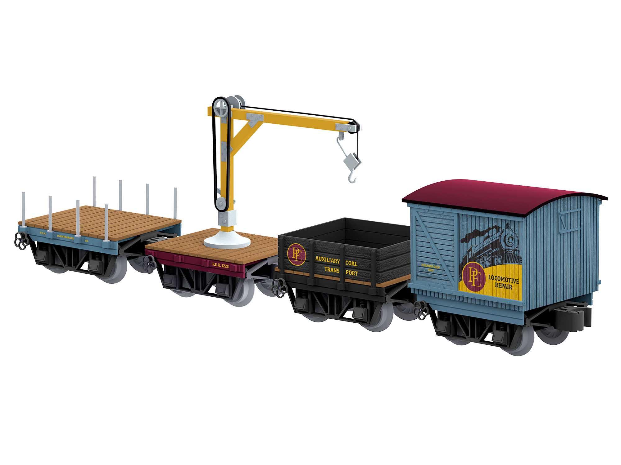 Lionel 2026680 O27 The Polar Express Elf Work Train (4)