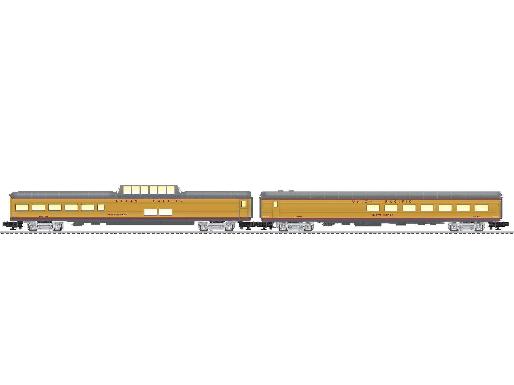 LNL2027230 Lionel O UP Excursion 3 Pack 434-2027230