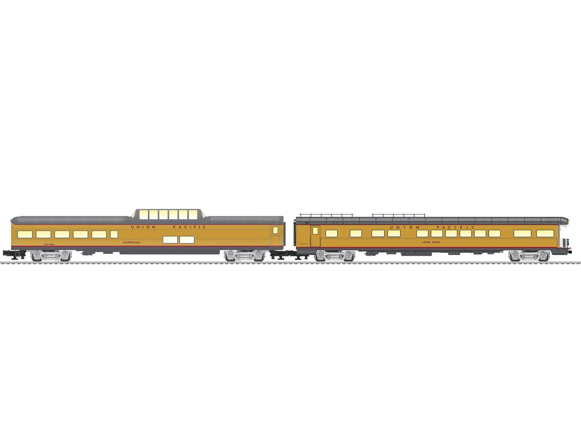 LNL2027240 Lionel O UP Excursion 4 Pack 434-2027240