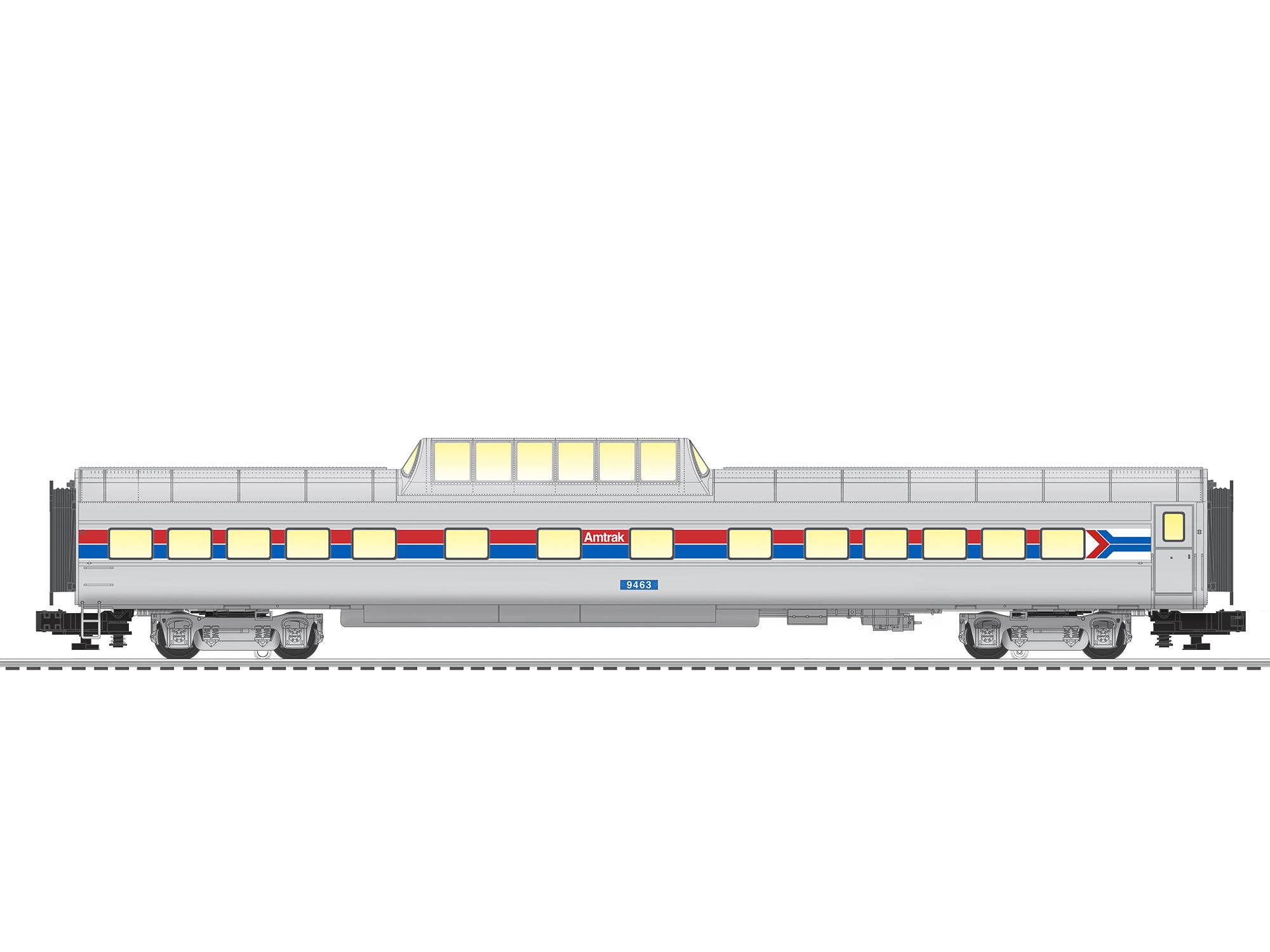 Amtrak VistaVision Dome #9463