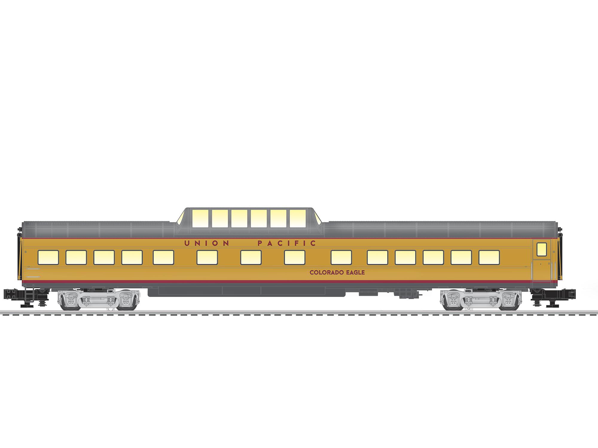 Lionel 2027260 O Vista Dome Car 3-Rail Union Pacific Colorado Eagle 434-2027260