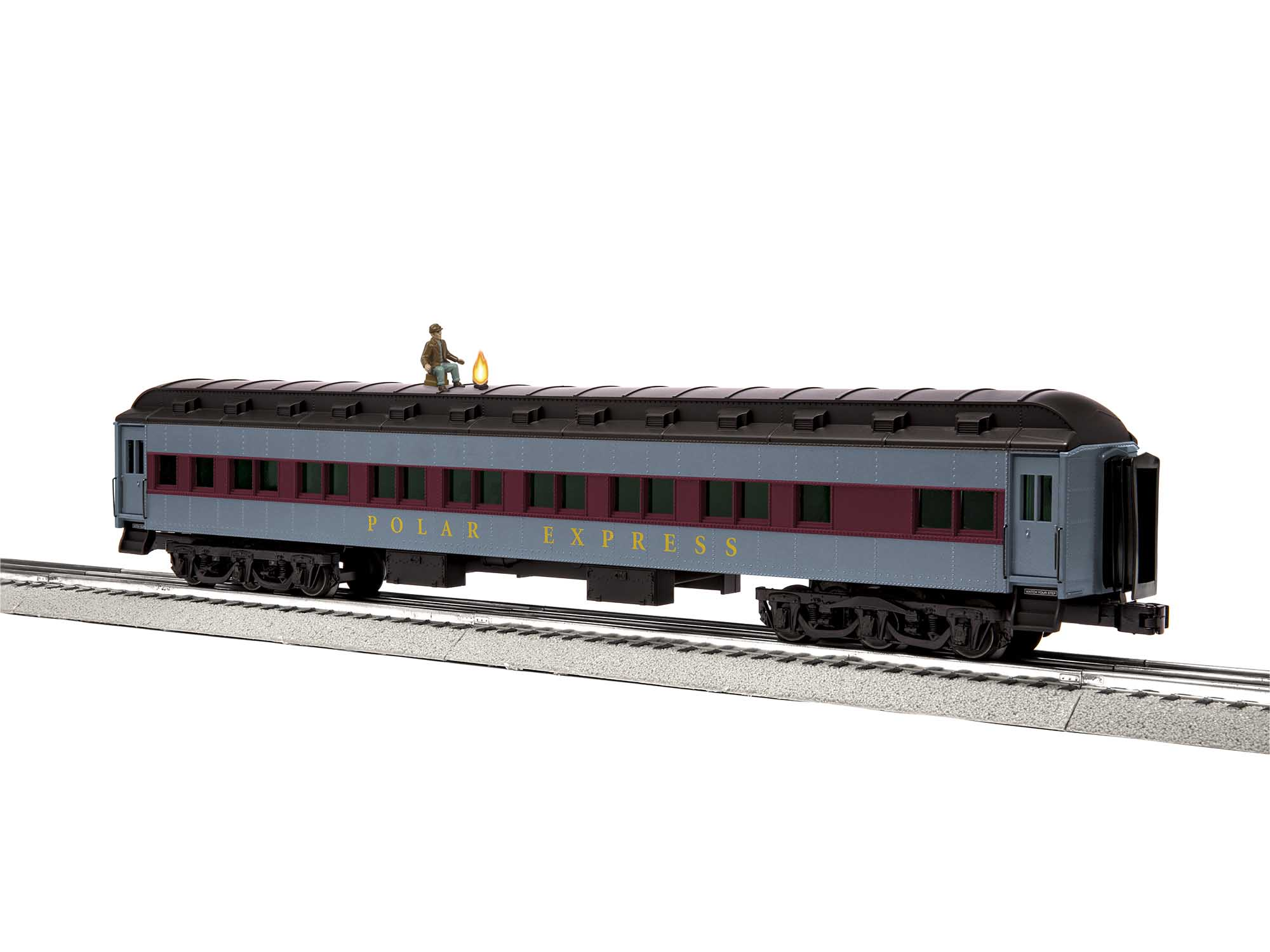 Lionel 2027470 O Passenger The Polar Express Hobo Black Roof