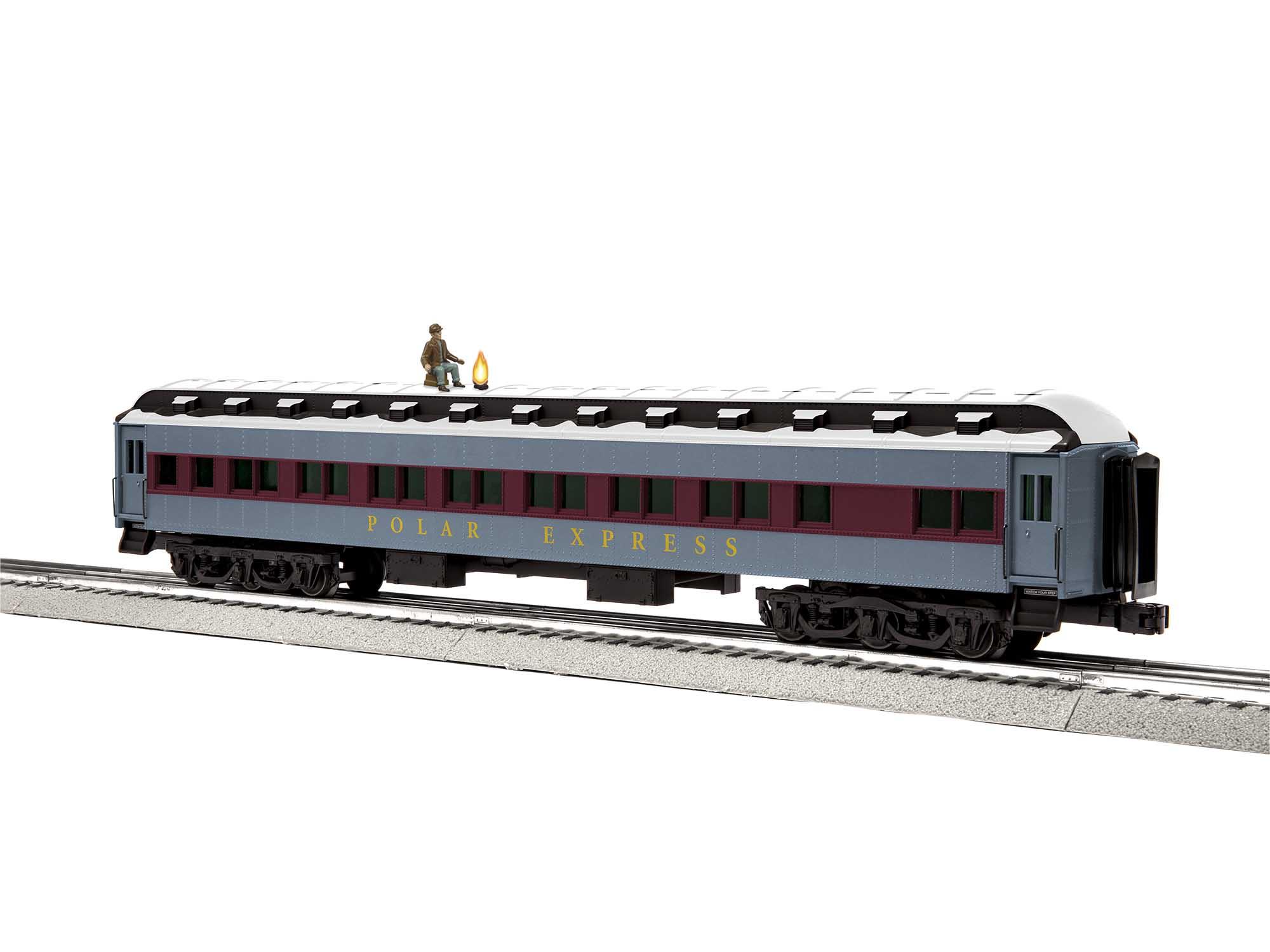 Lionel 2027480 O Passenger The Polar Express Hobo White Roof