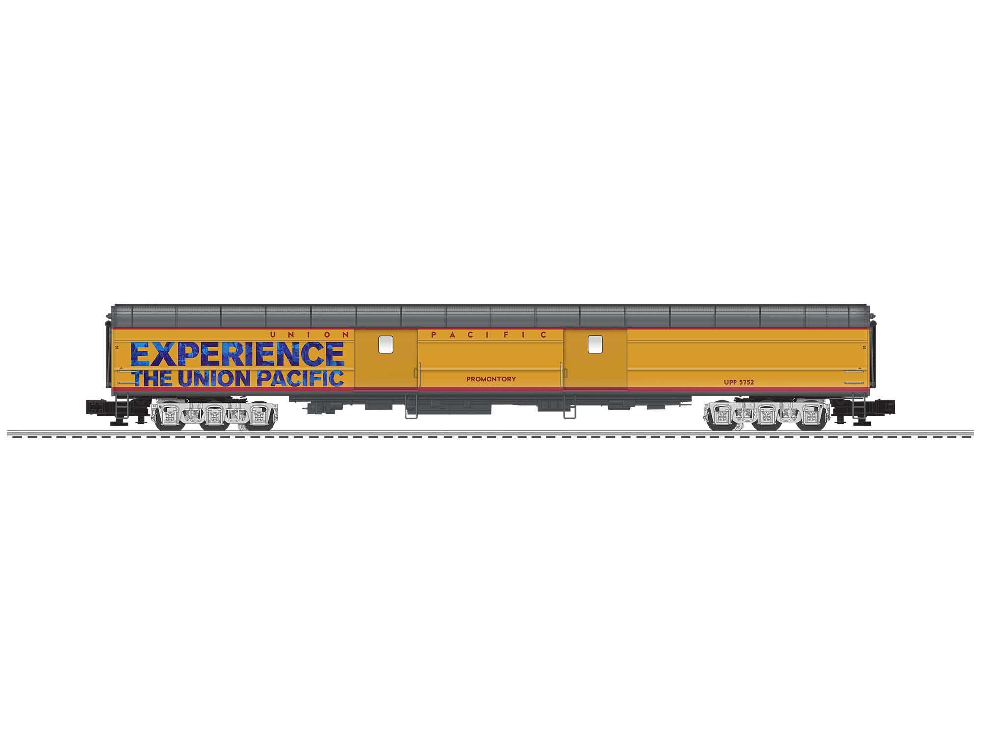 Lionel 2027580 O Baggage Car 3-Rail Union Pacific 21 Promontory