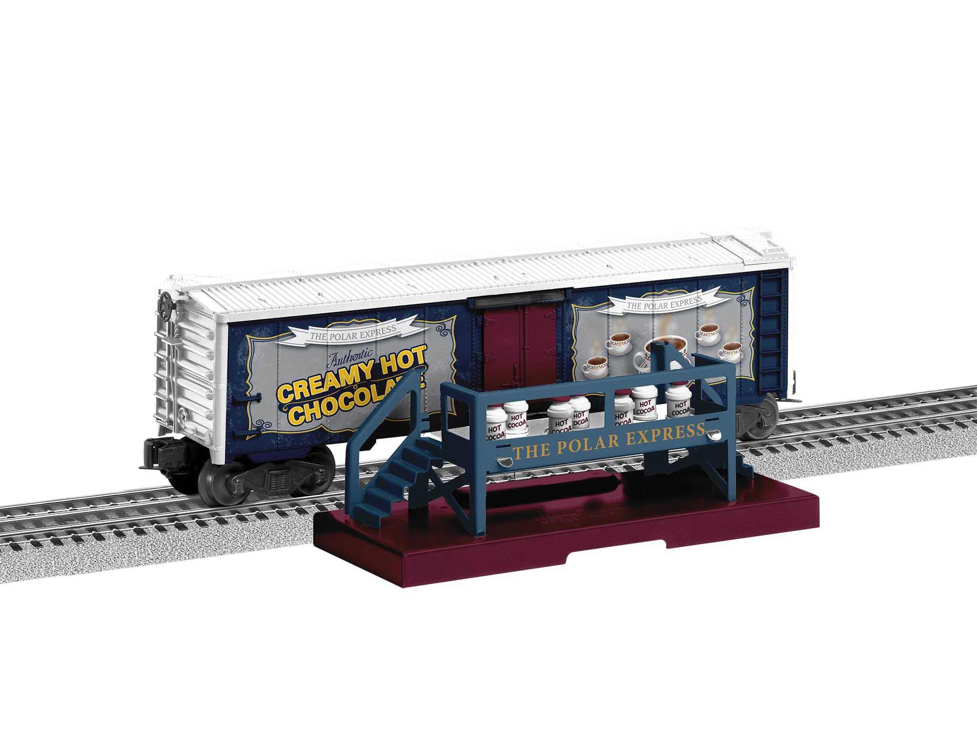 Lionel 2028120 O27 Boxcar The Polar Express Hot Cocoa Car