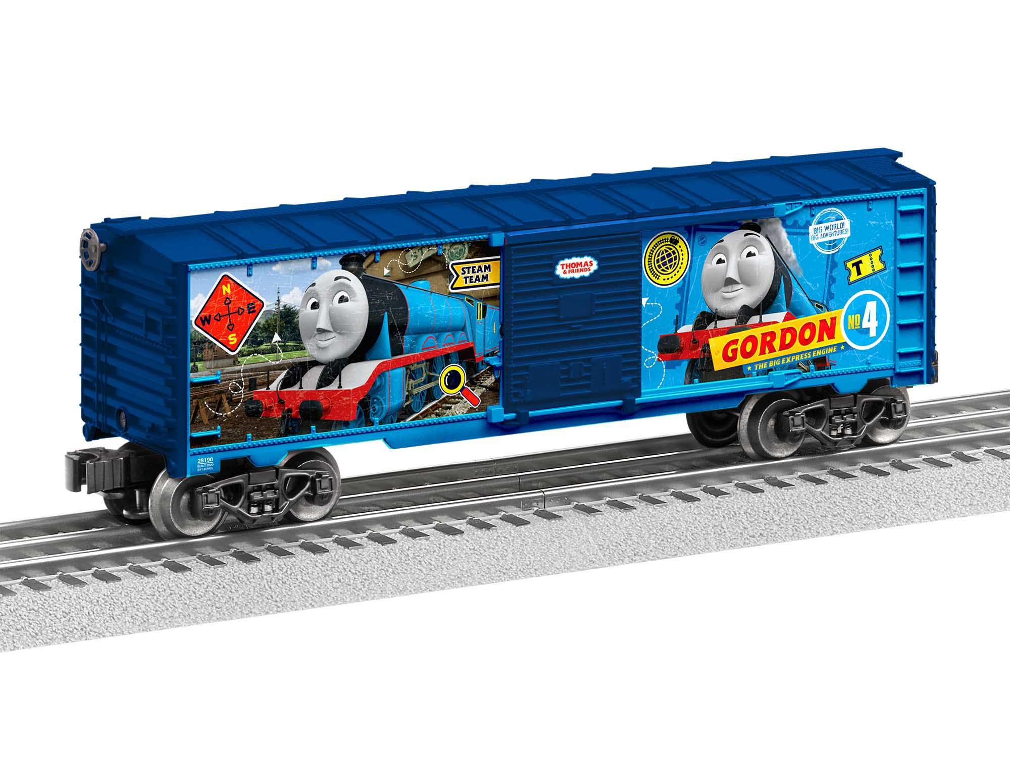 Lionel 2028190 O27 Boxcar Thomas & Friends Gordon