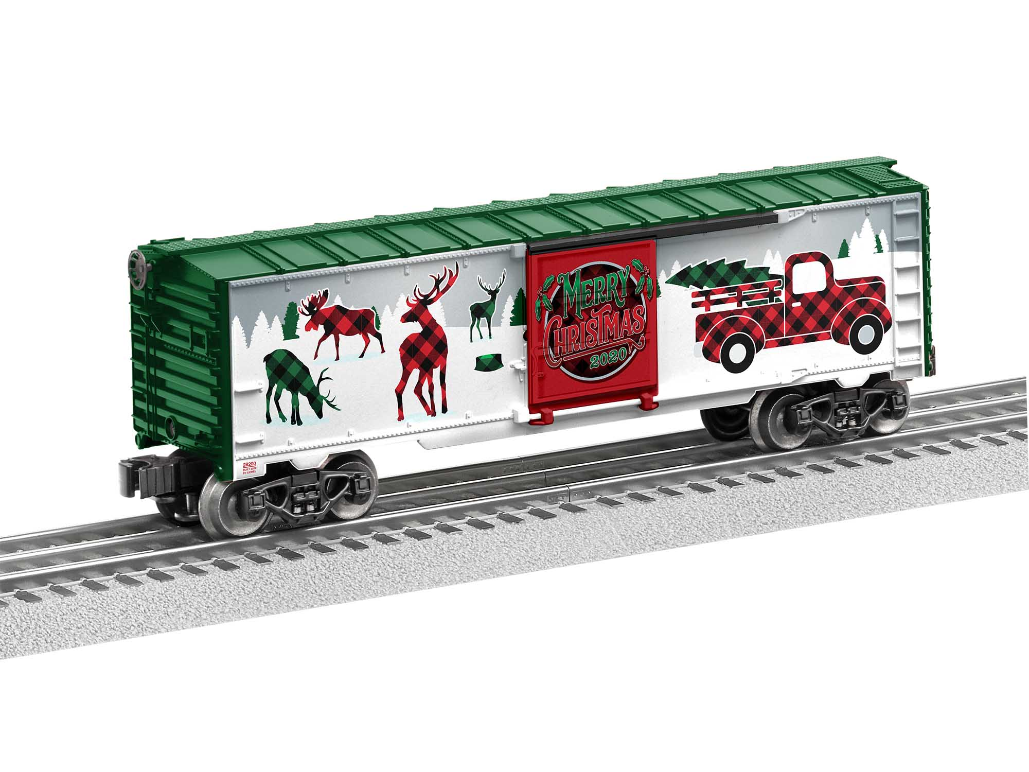 Lionel 2020 Christmas Boxcar Christmas Boxcar 2020