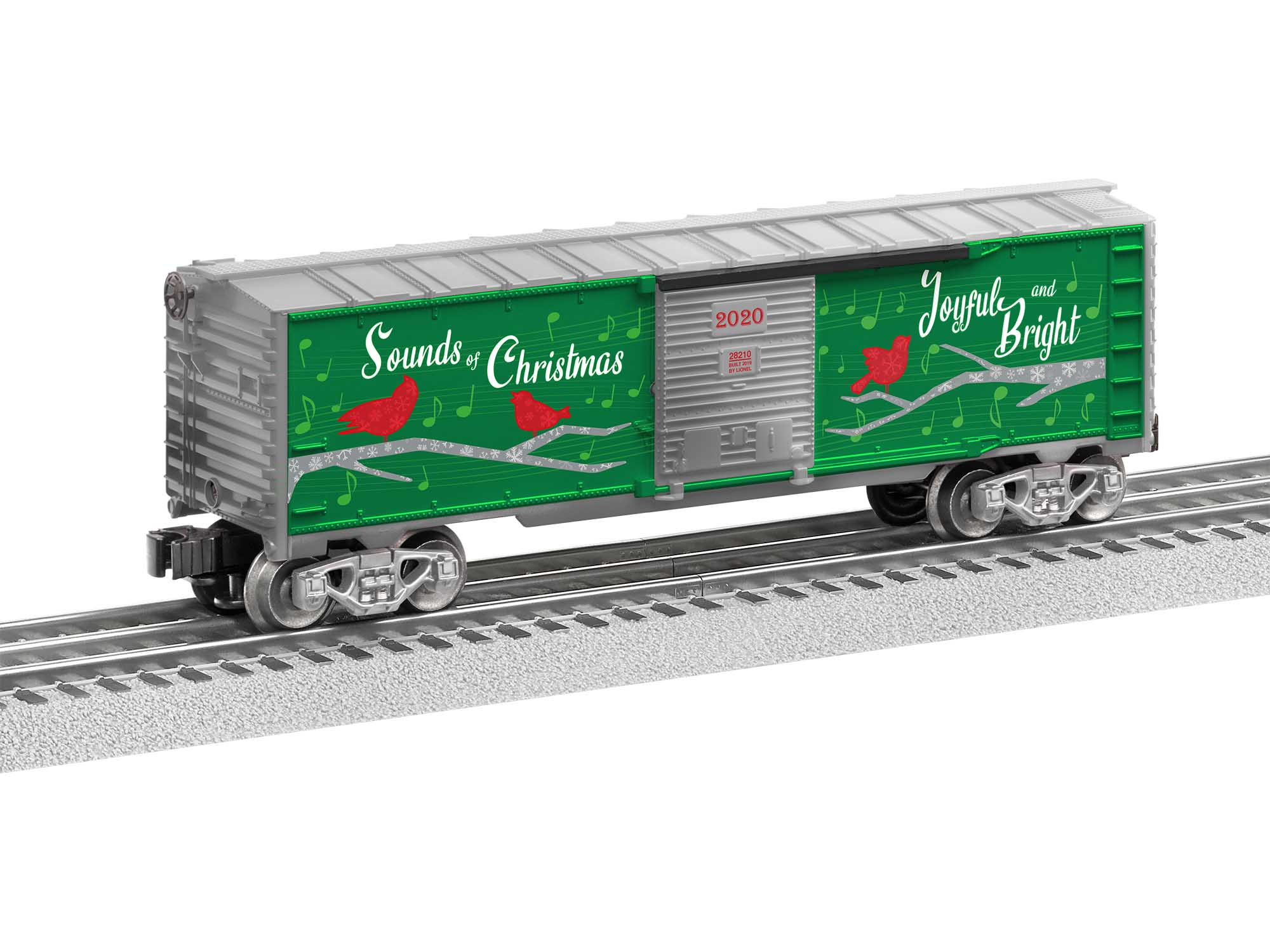 Lionel 2028210 O27 Boxcar Christmas Music