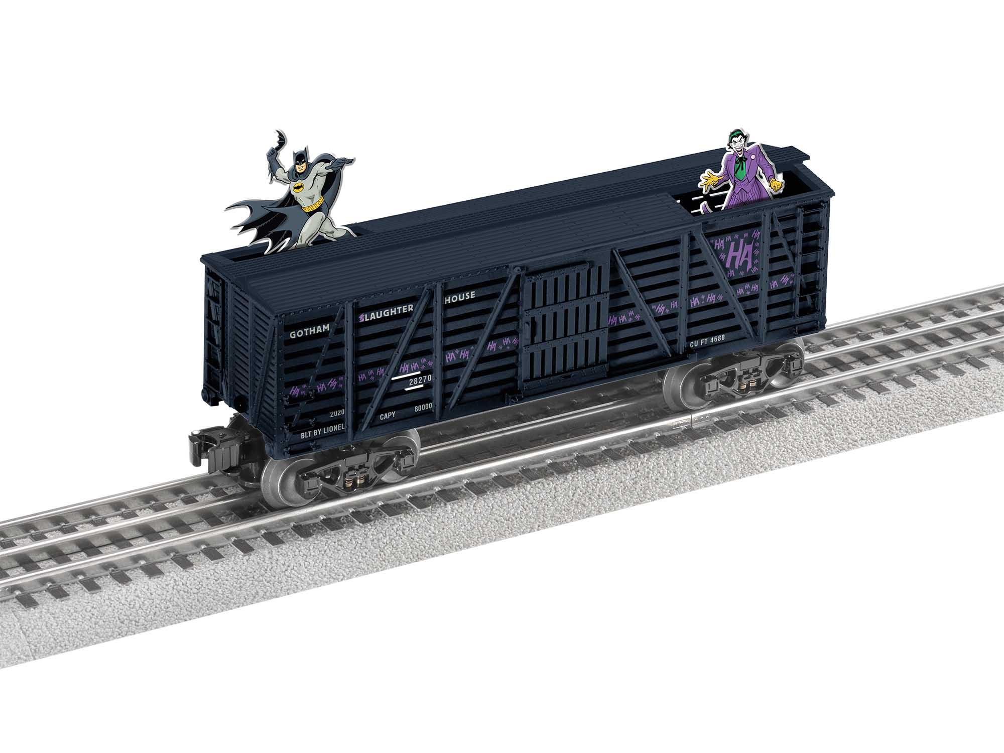 Lionel 2028270 O27 Box Batman vs. The Joker