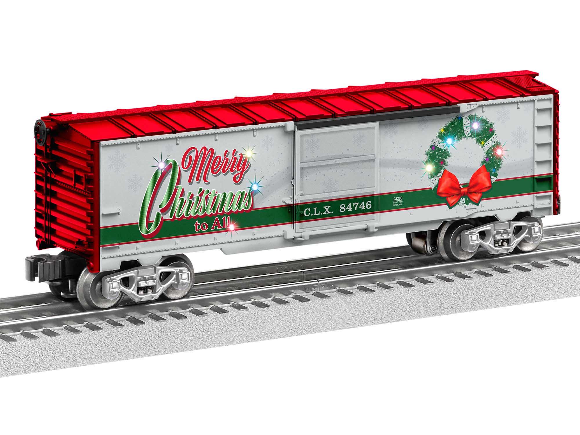 Lionel 2028300 O27 Boxcar Christmas Light Express