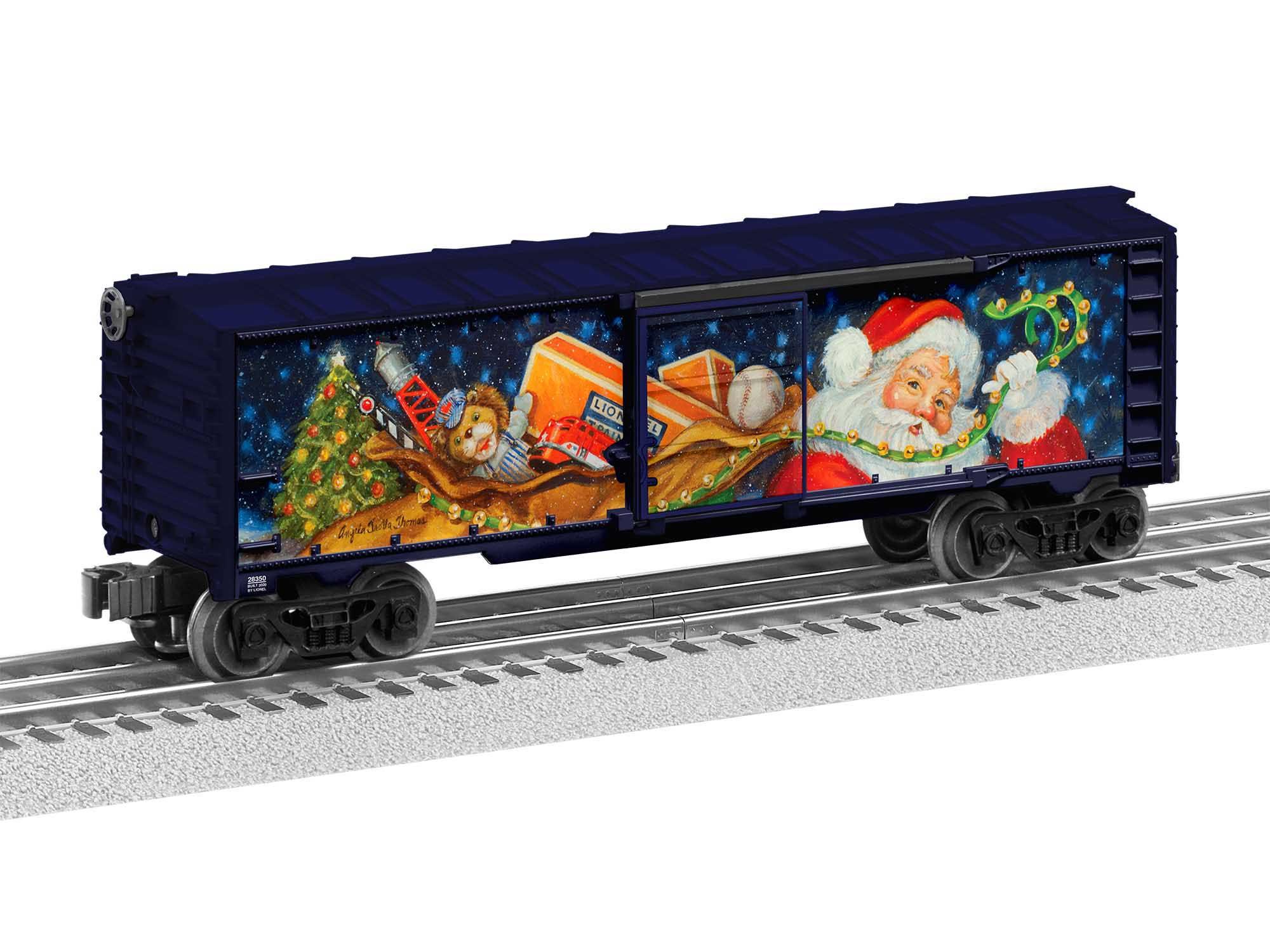 Lionel 2028350 O27 Boxcar Angela Trotta Thomas Christmas
