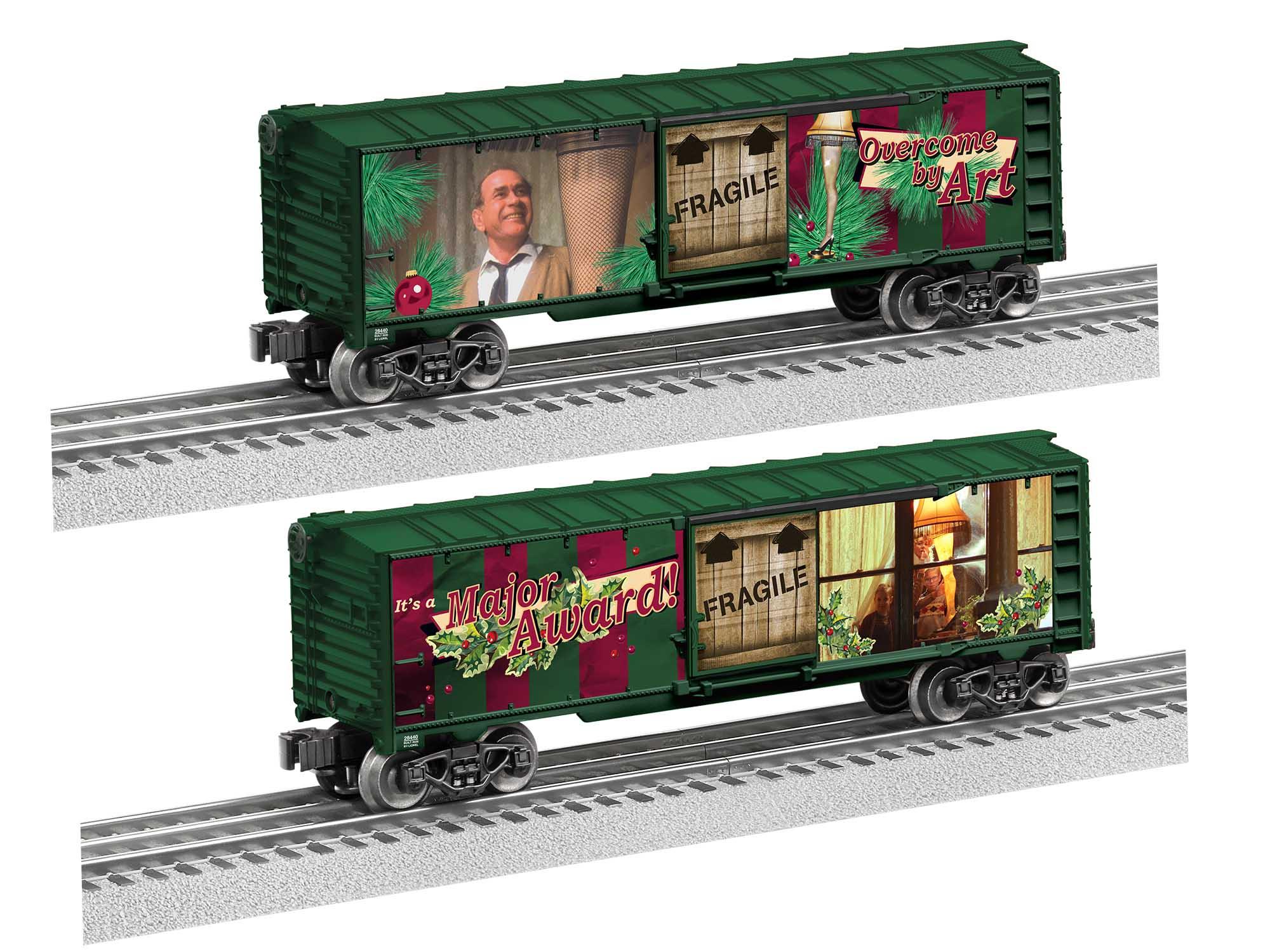 Lionel 2028440 O27 Boxcar A Christmas Story Leg Lamp