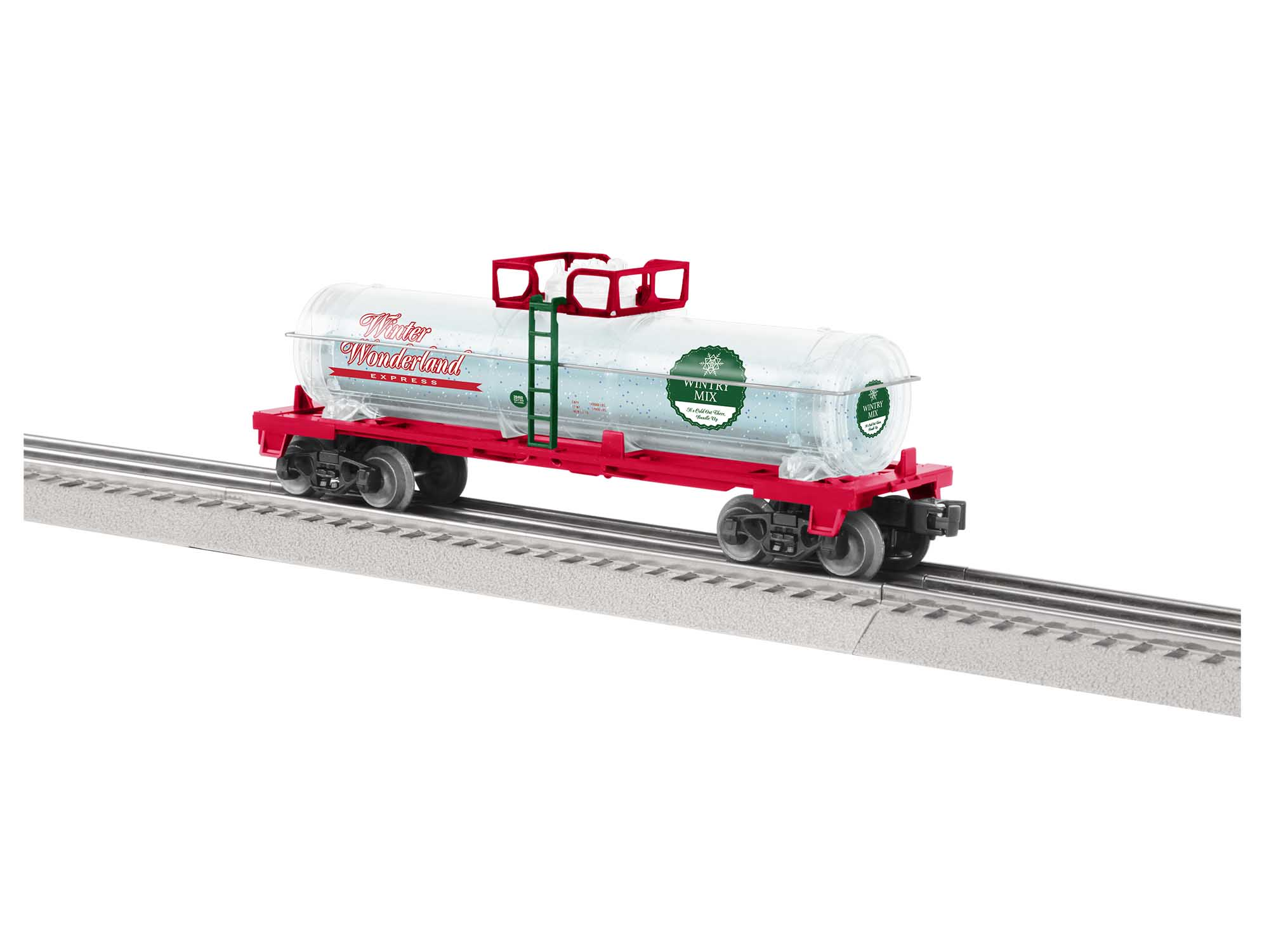 Lionel 2028460 O27 Tank Car Wintery Mix