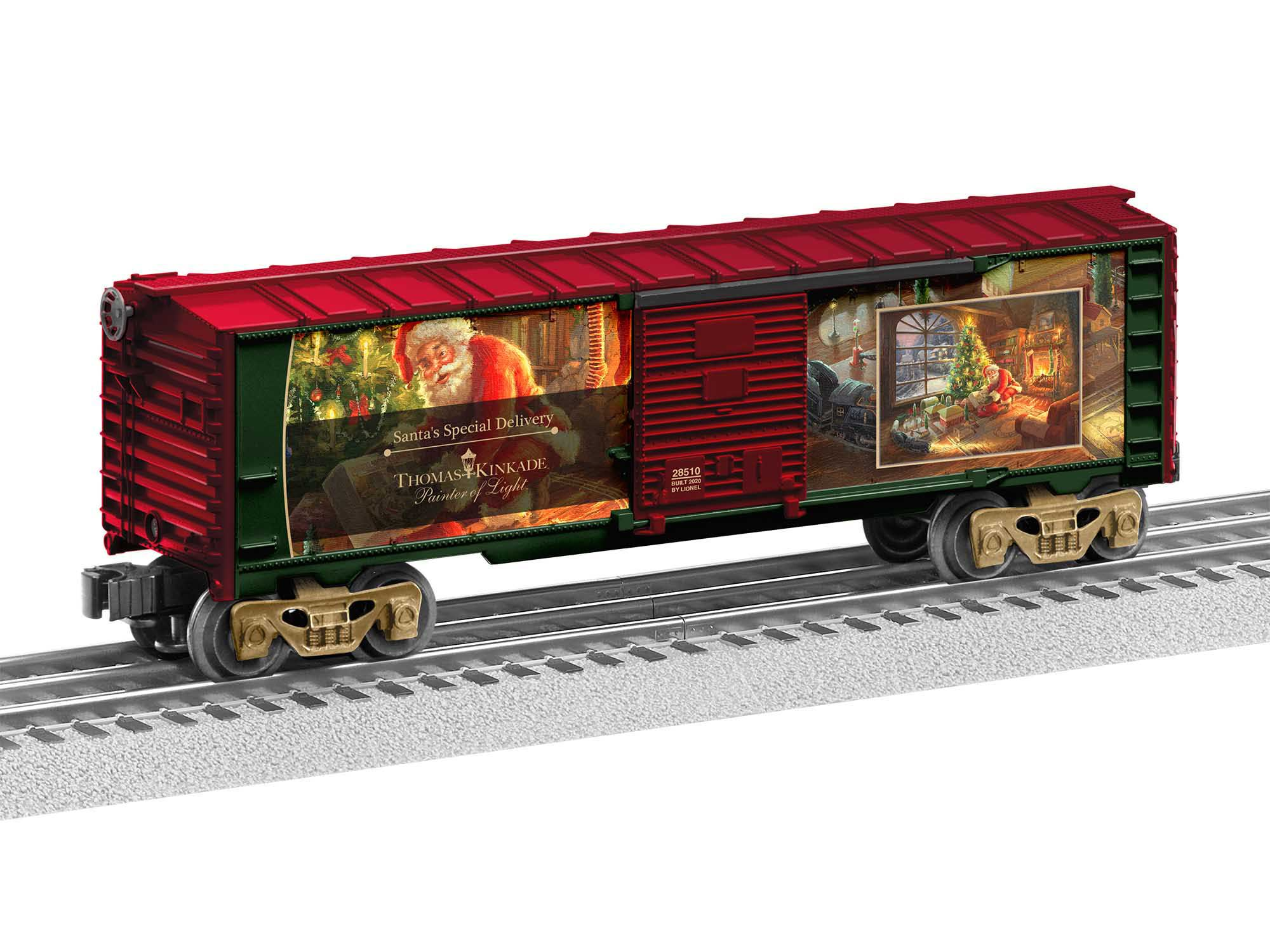 Lionel 2028510 O27 Boxcar Thomas Kinkade Special Delivery