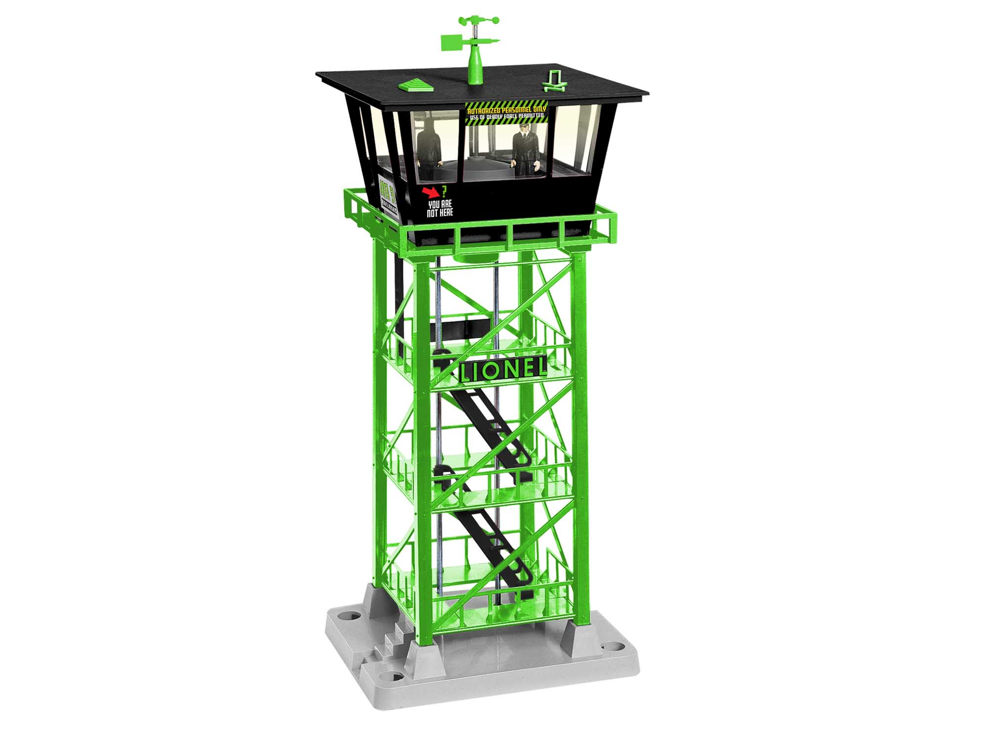 Lionel 2029200 Search Tower Area 51