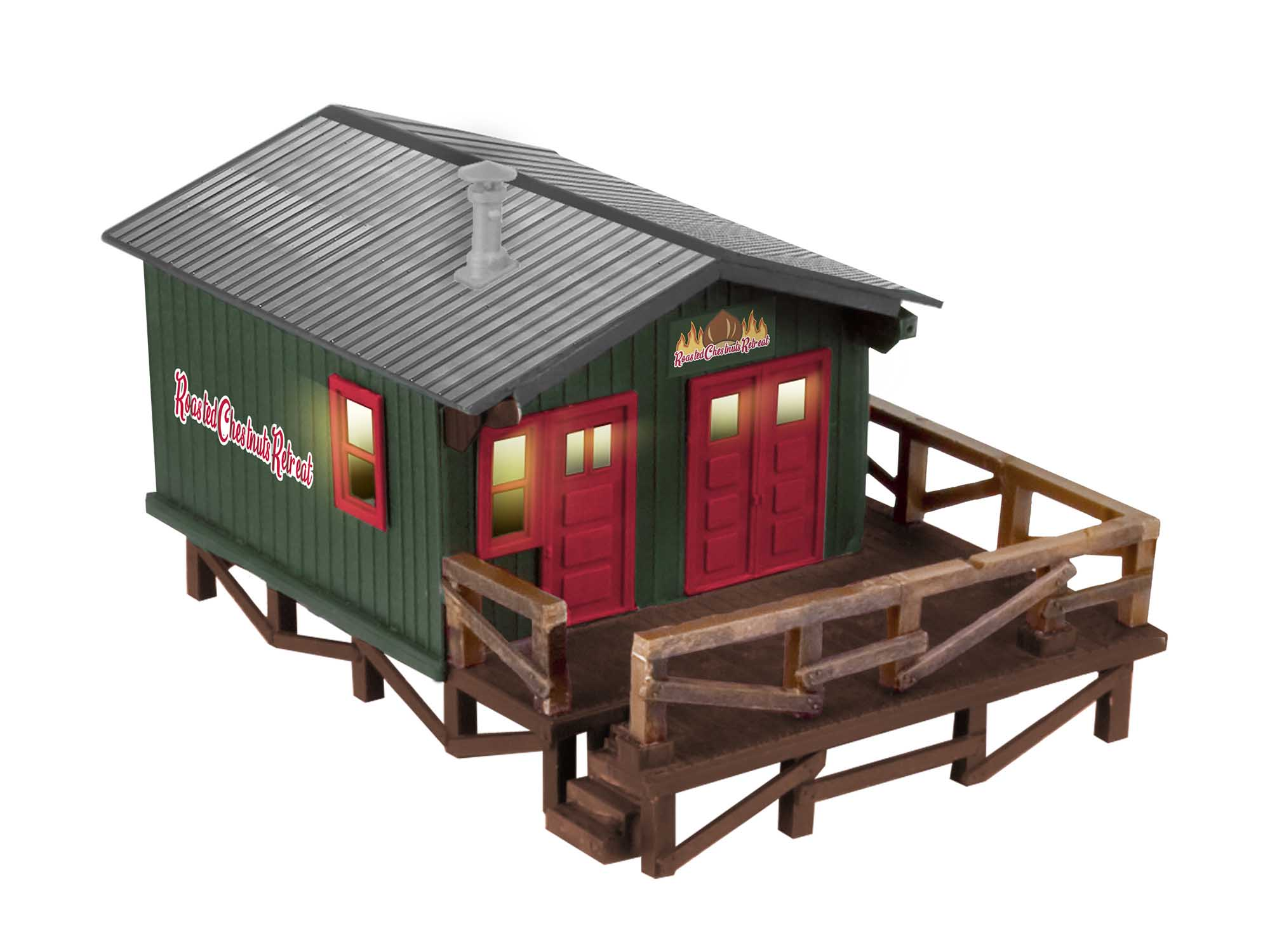 Lionel 2029220 Roasted Chestnuts Retreat