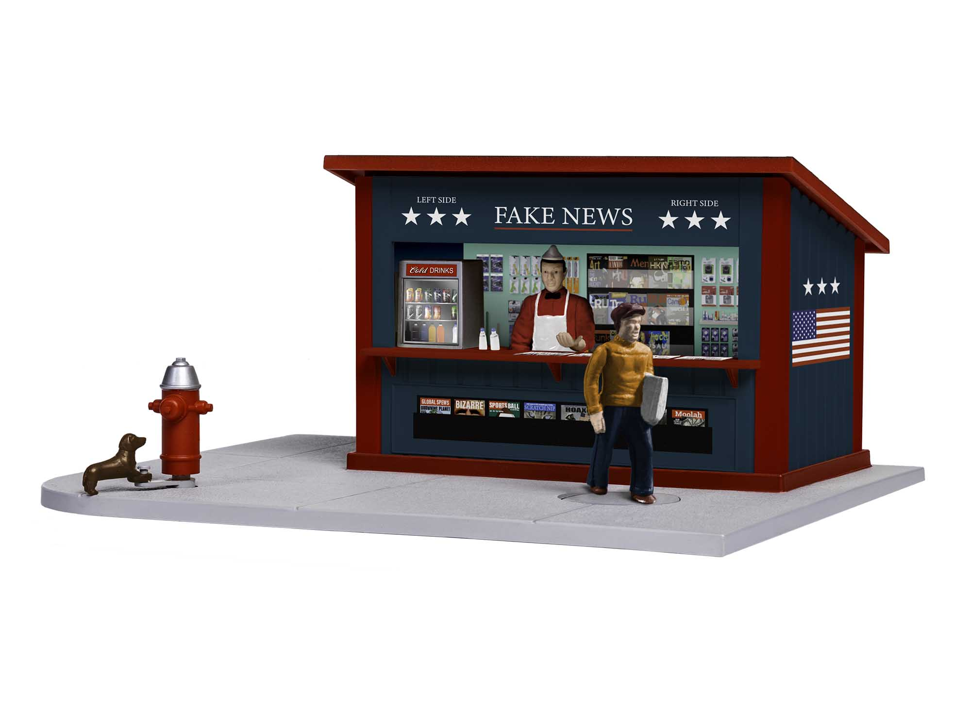 Lionel 2029240 Fake News Stand