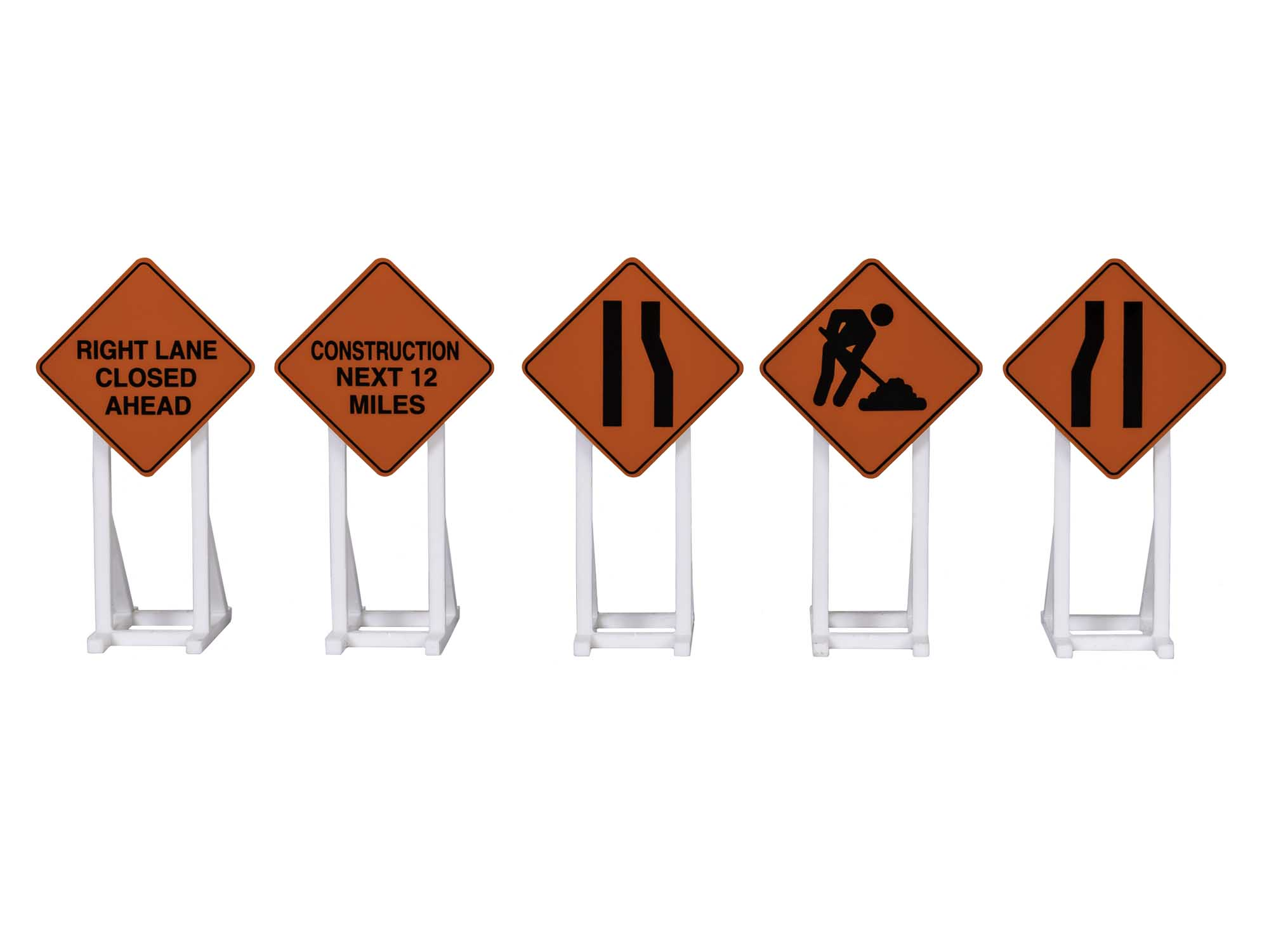 Lionel 2030240 Construction Signs 5-pack