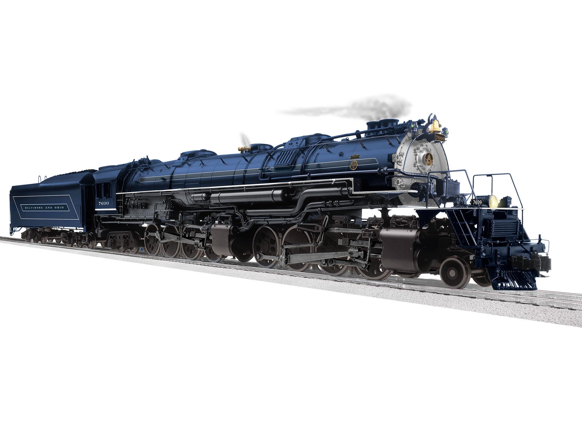 Lionel 2031100 O 2-8-8-4 3-Rail Legacy Sound and Control Baltimore & Ohio 7600 434-2031100