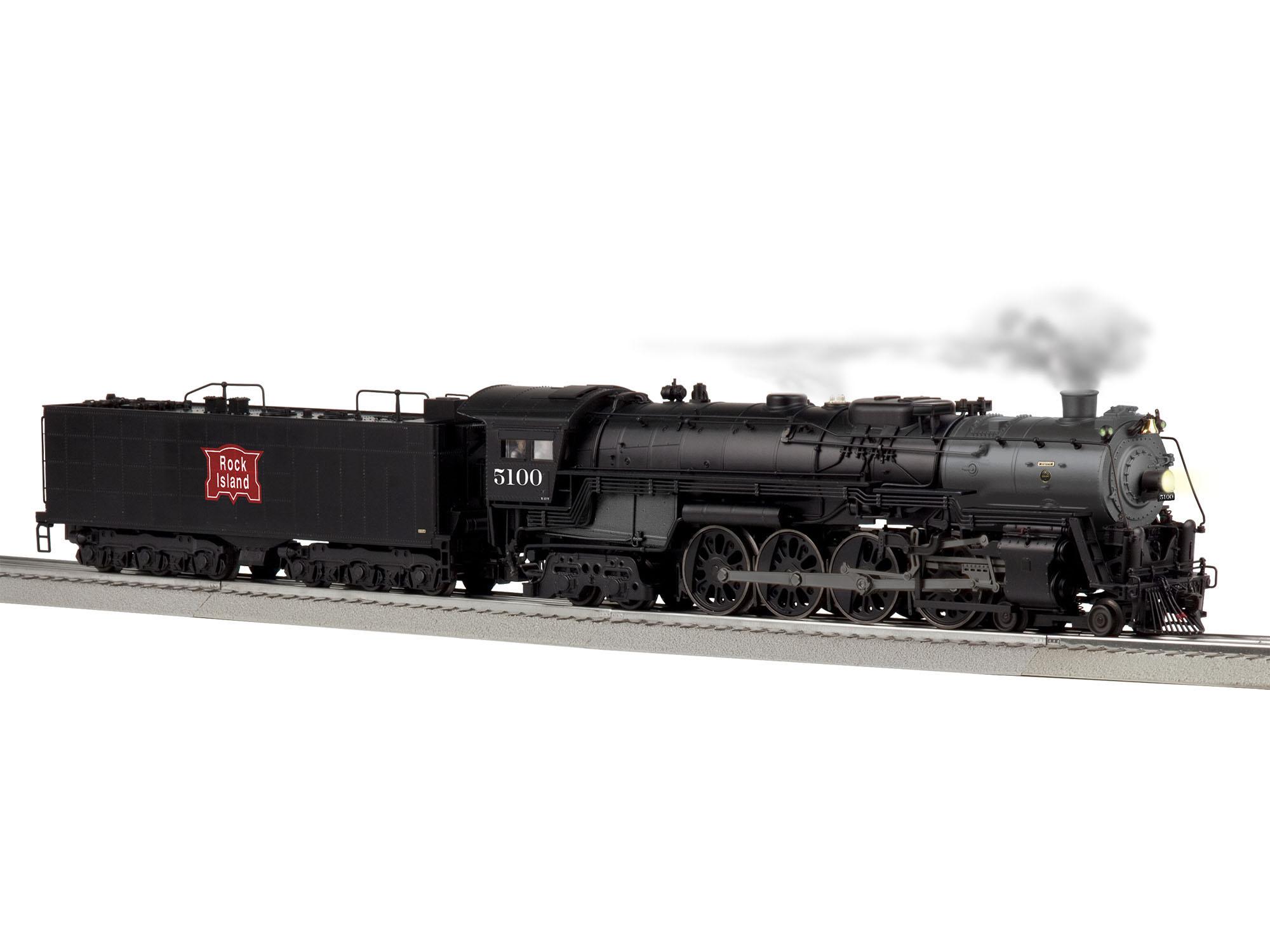 Lionel 2031210 O 4-8-4 3-Rail Legacy Sound and Control Rock Island 5100 434-2031210