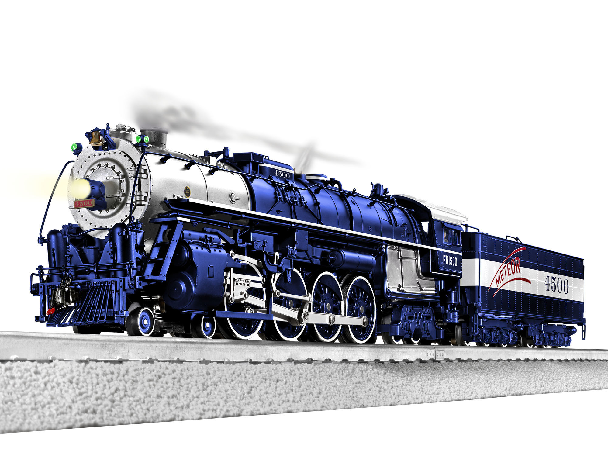 Lionel 2031240 O 4-8-4 3-Rail Legacy Sound and Control St. Louis-San Francisco 4500 434-2031240