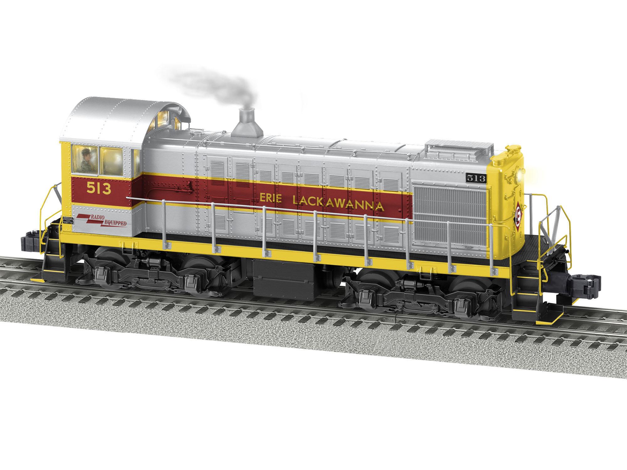 Lionel 2033080 O Alco S4 3-Rail Legacy Sound and Control Erie Lackawanna 513 434-2033080