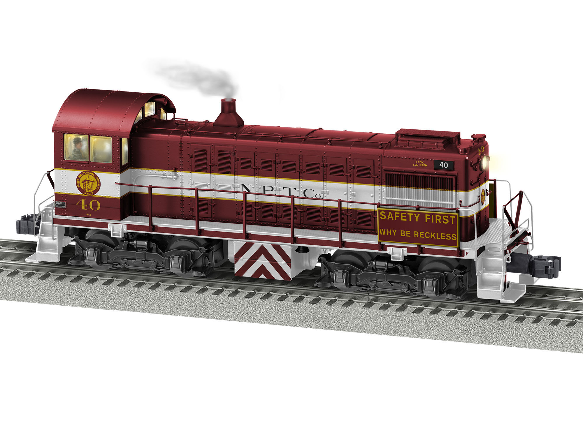 Lionel 2033140 O Alco S2 3-Rail Legacy Sound and Control Northern Pacific Terminal 40 434-2033140