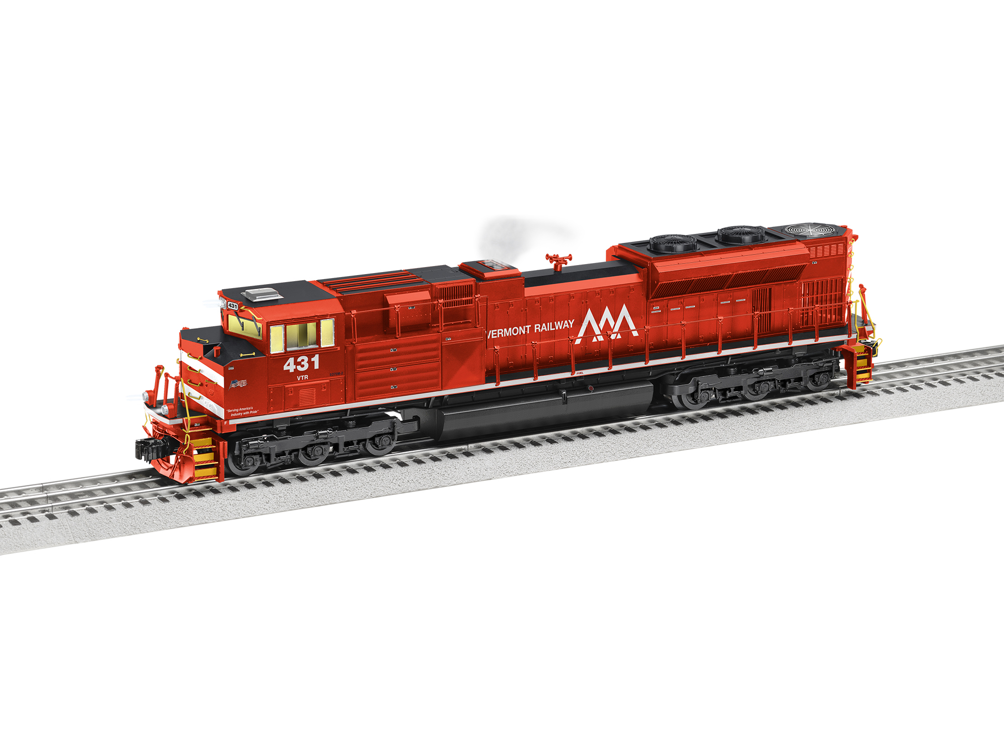 Lionel 2033231 O EMD SD70M-2 3-Rail Legacy Sound and Control Vermont Railway 431 434-2033231