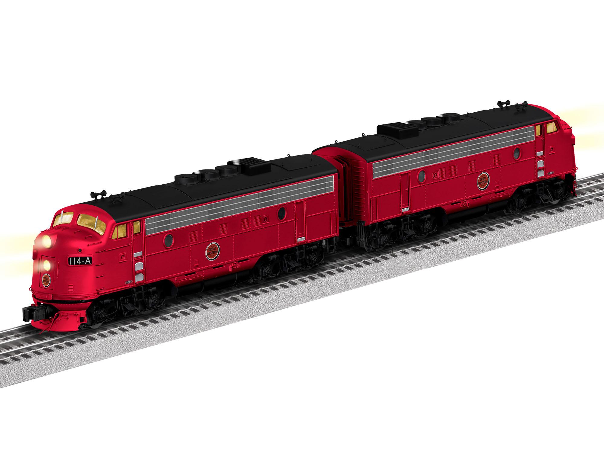 LNL2033260 Lionel O F7 AA Set CHW 434-2033260