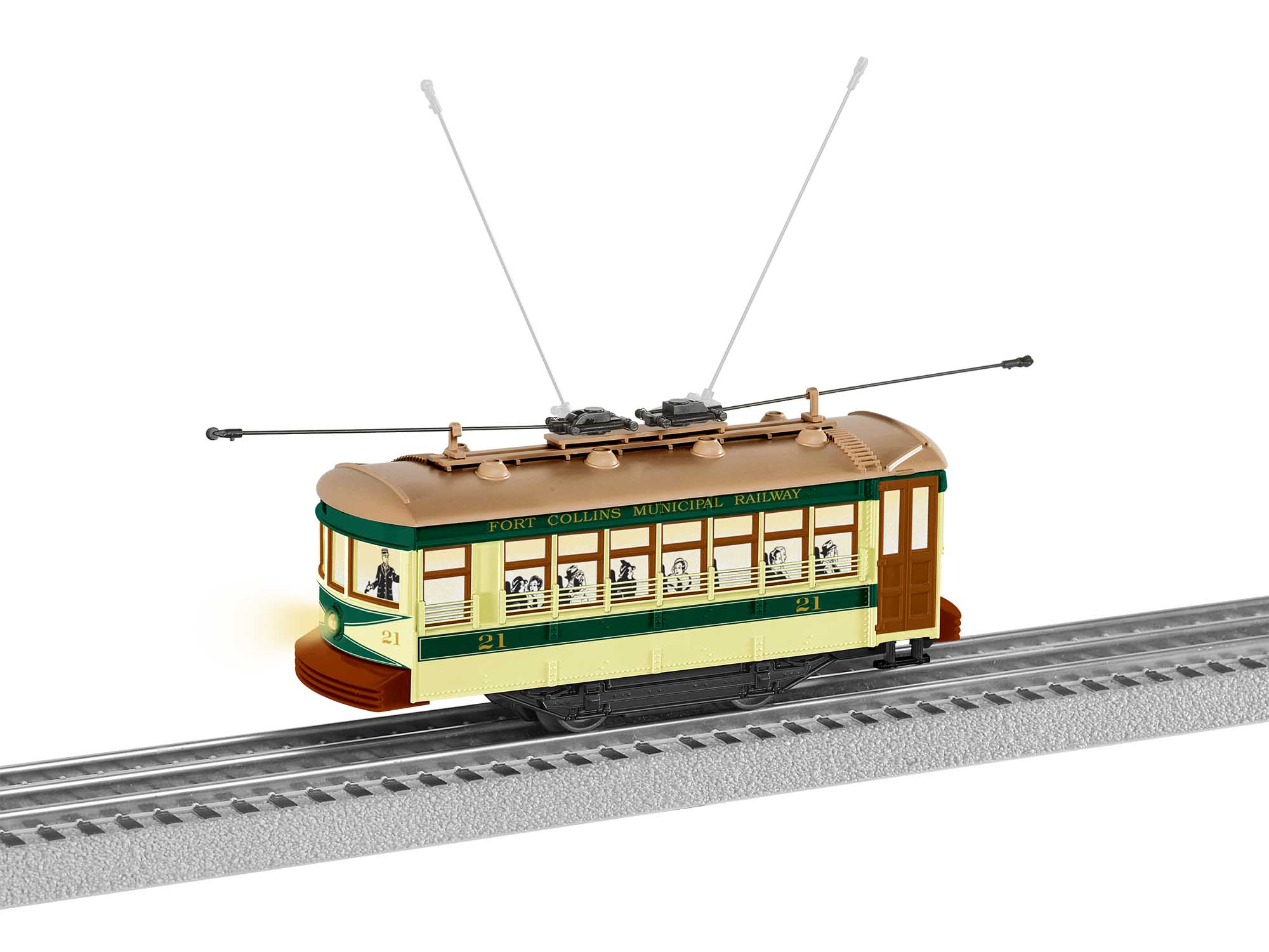 Lionel 2035020 Fort Collins Trolley