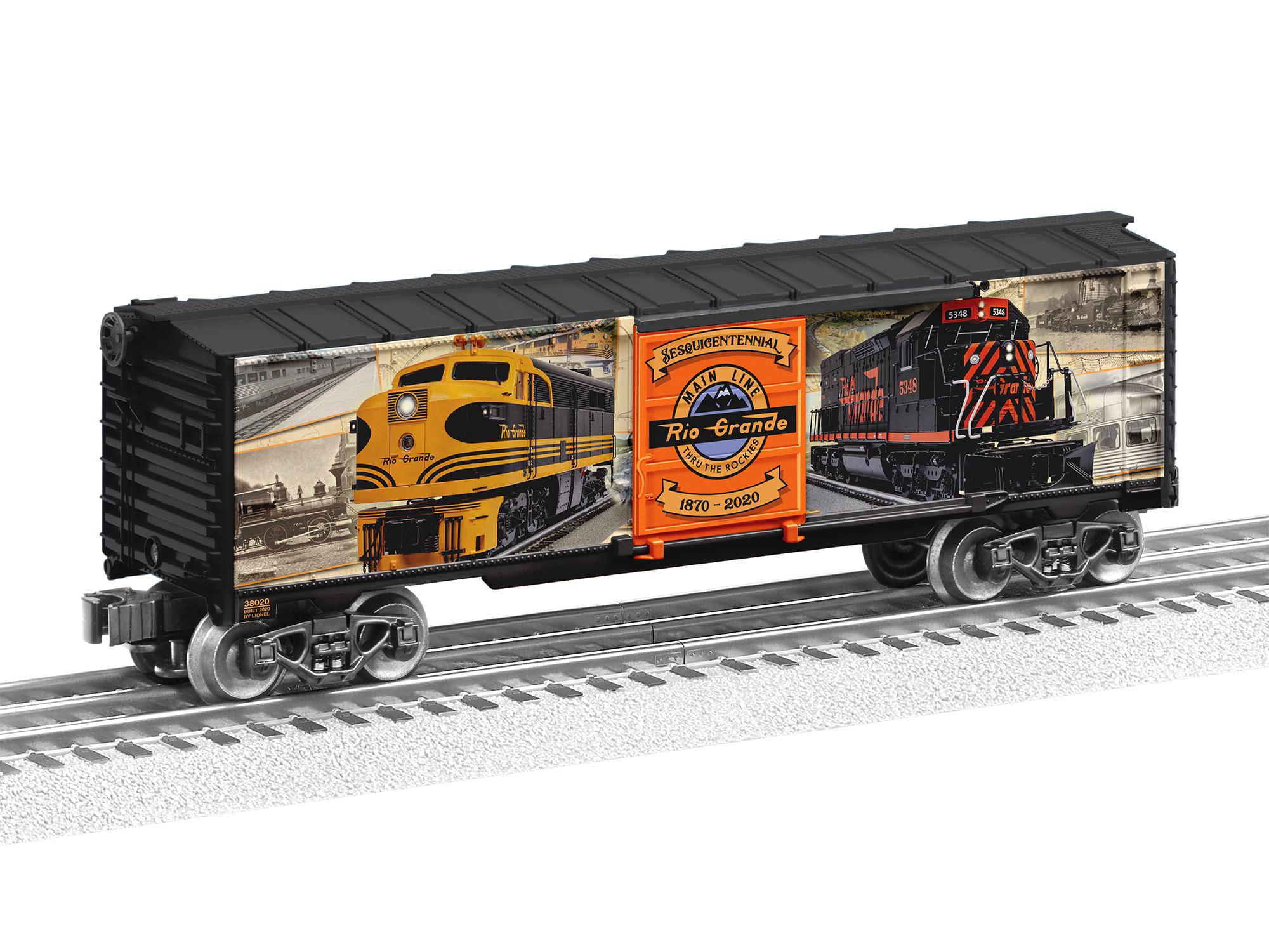 Lionel 2038020 O Boxcar 3-Rail RTR Denver & Rio Grande Western 150th Anniversary 434-2038020