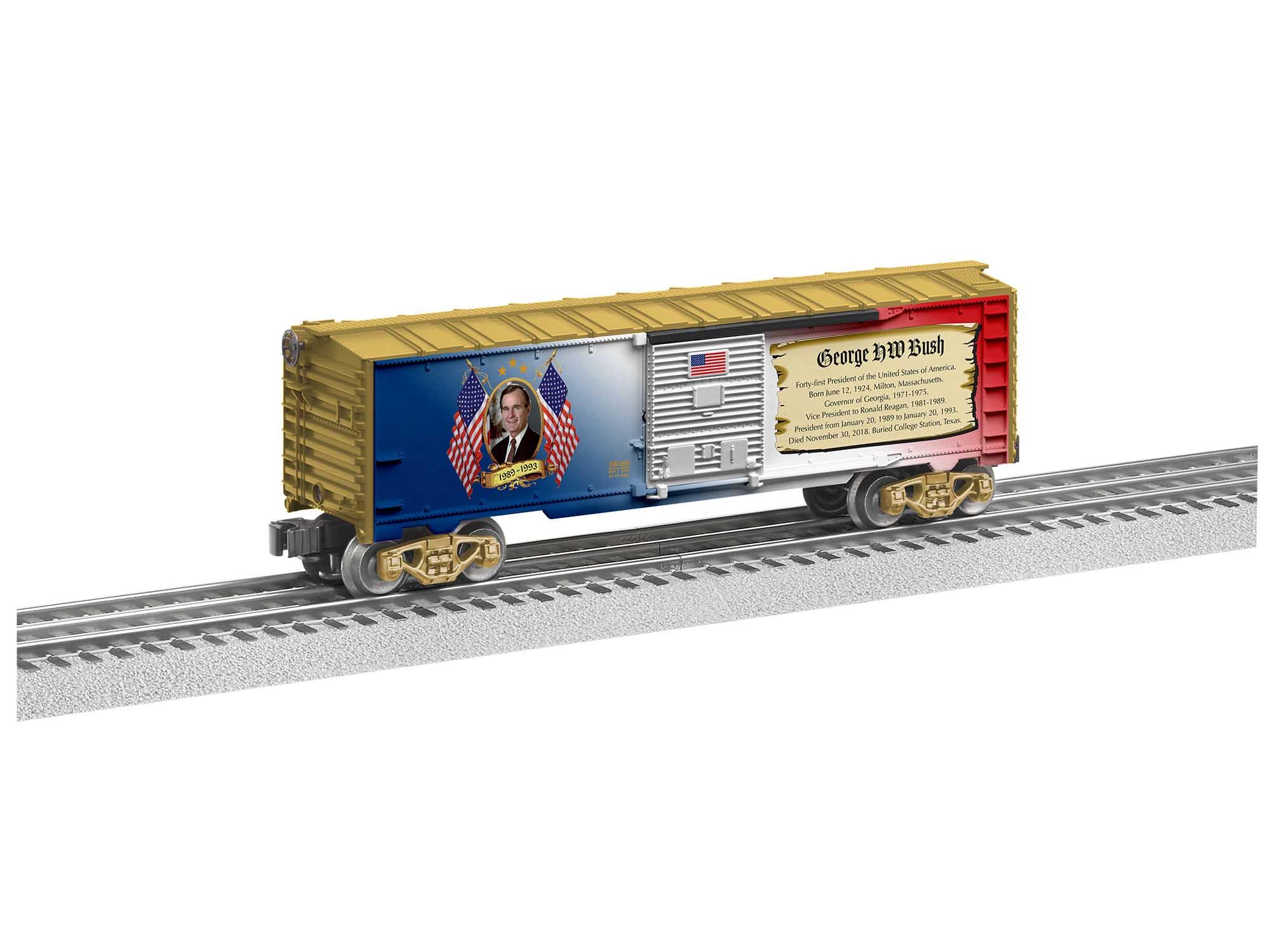 Lionel 2038050 O Boxcar 3-Rail George H. W. Bush